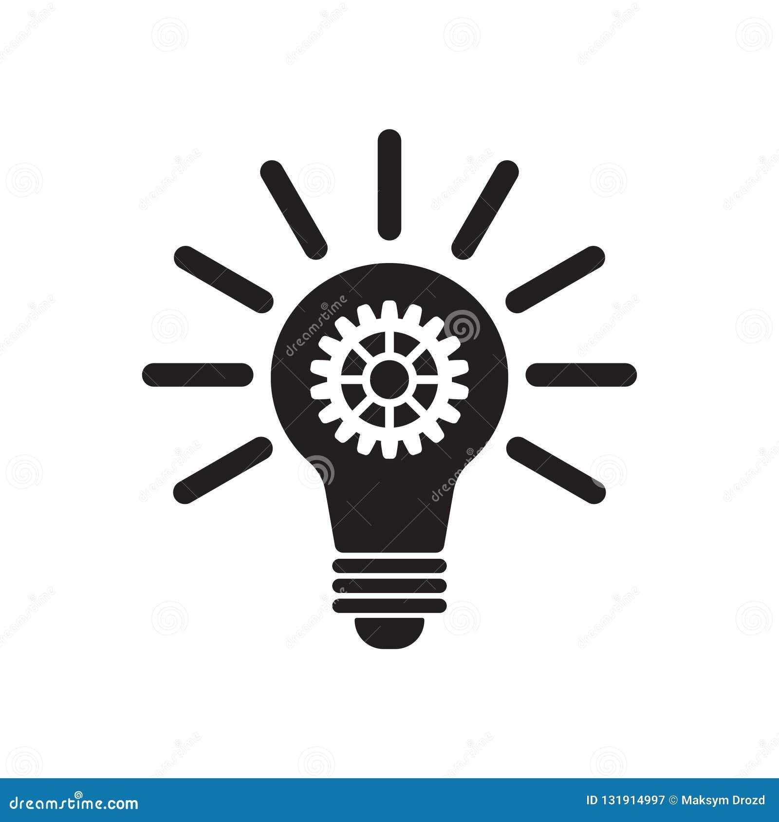 Ícone da inovação do vetor