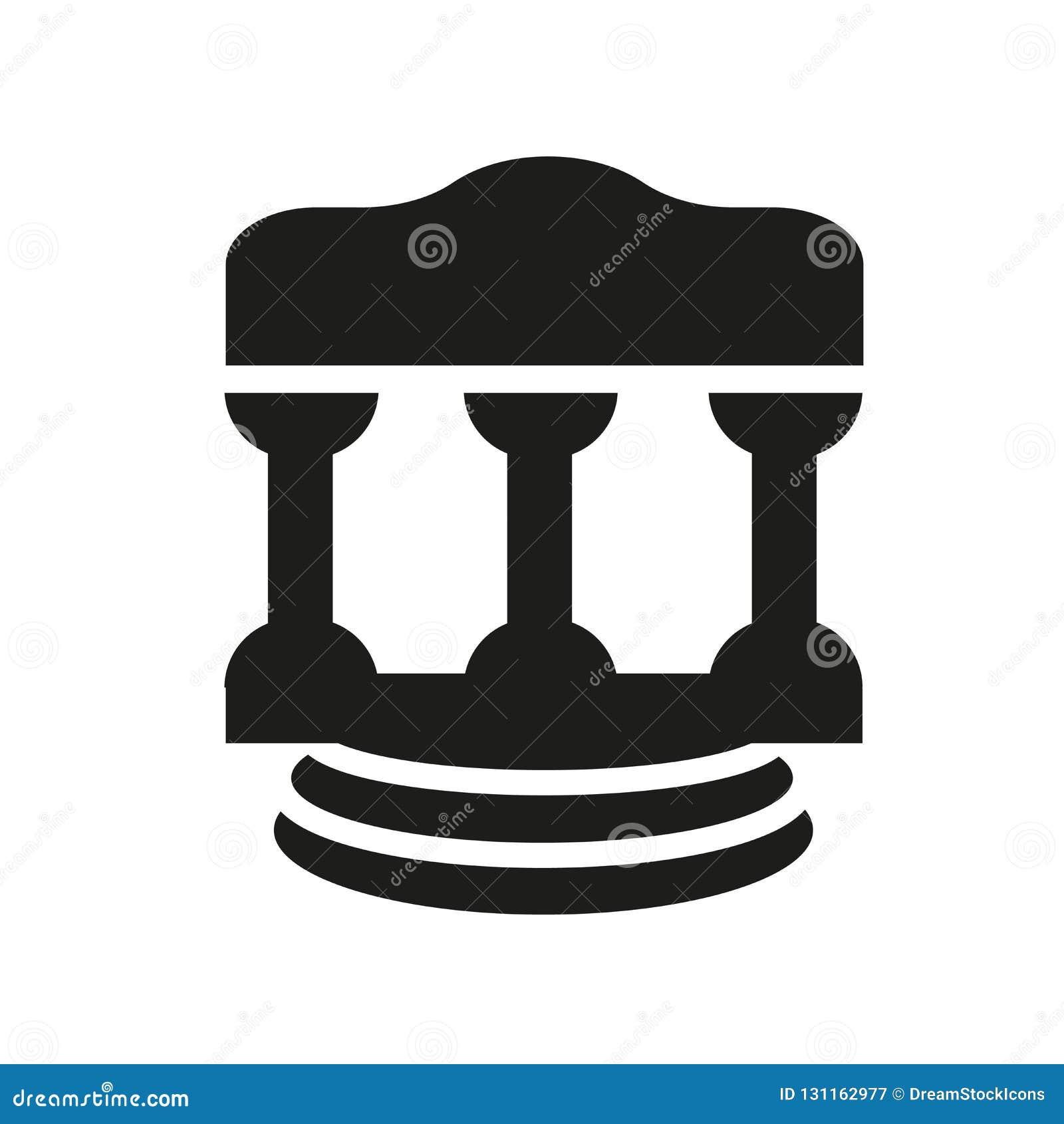 ícone Da Lei Romana Conceito Na Moda Do Logotipo Da Lei Romana No