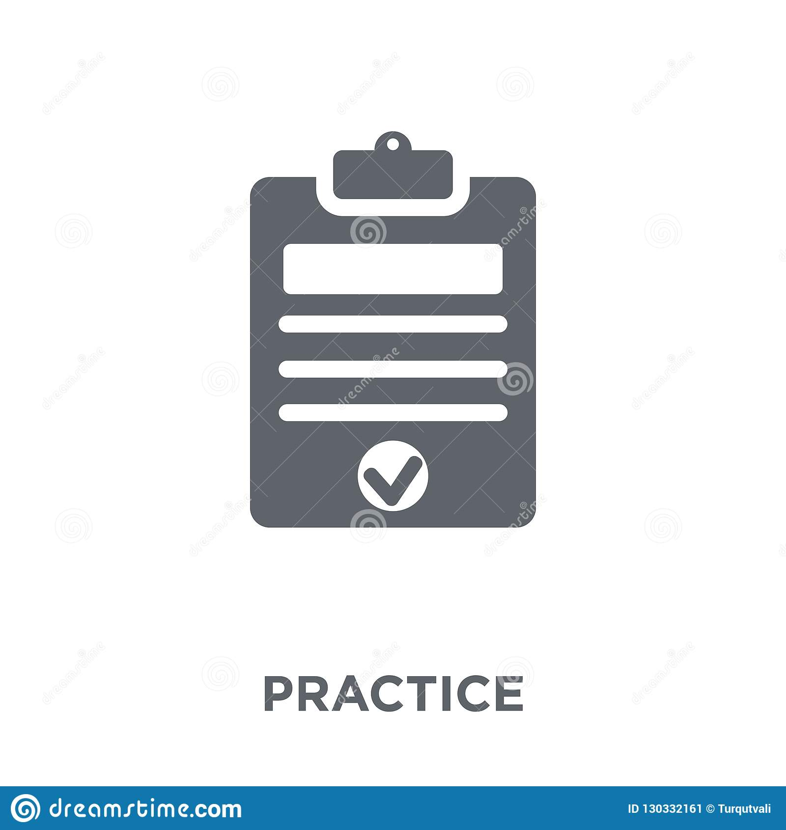 Ícone da prática da coleção da produtividade