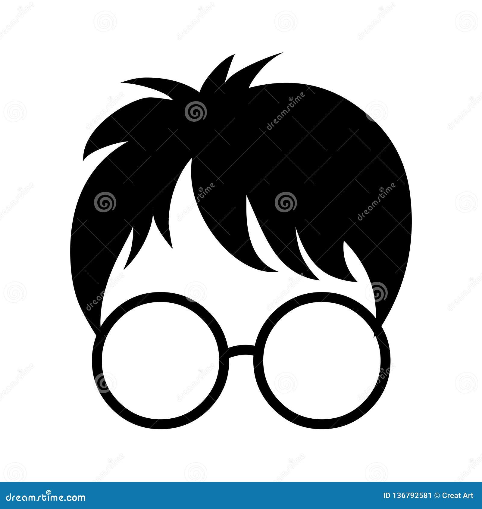 Ícone De Harry Potter Ilustração Das Especs. E Do Vetor Da