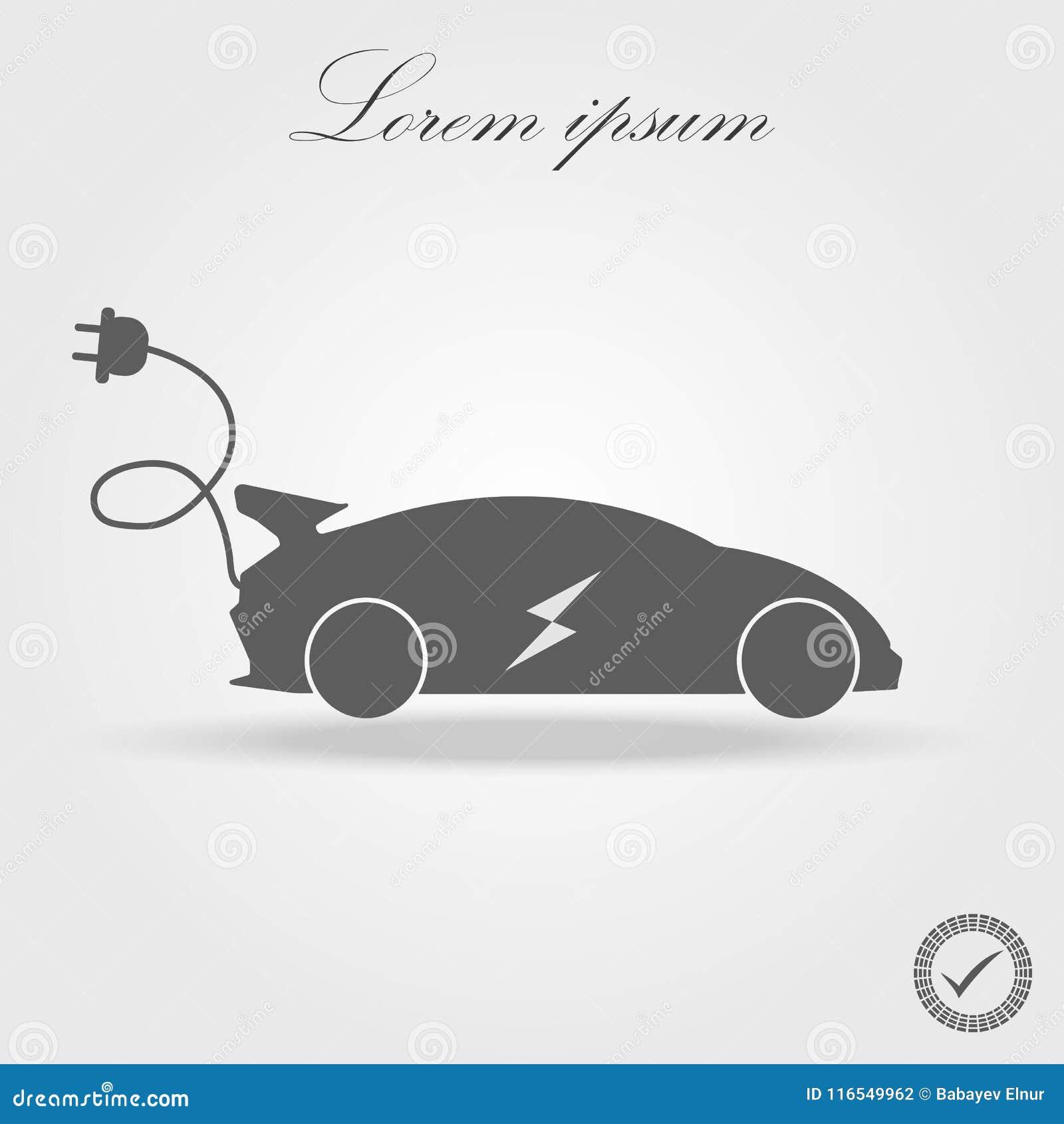 Ícone do carro bonde liso Pictograma preto no fundo branco Botão do símbolo e do bônus da ilustração do vetor