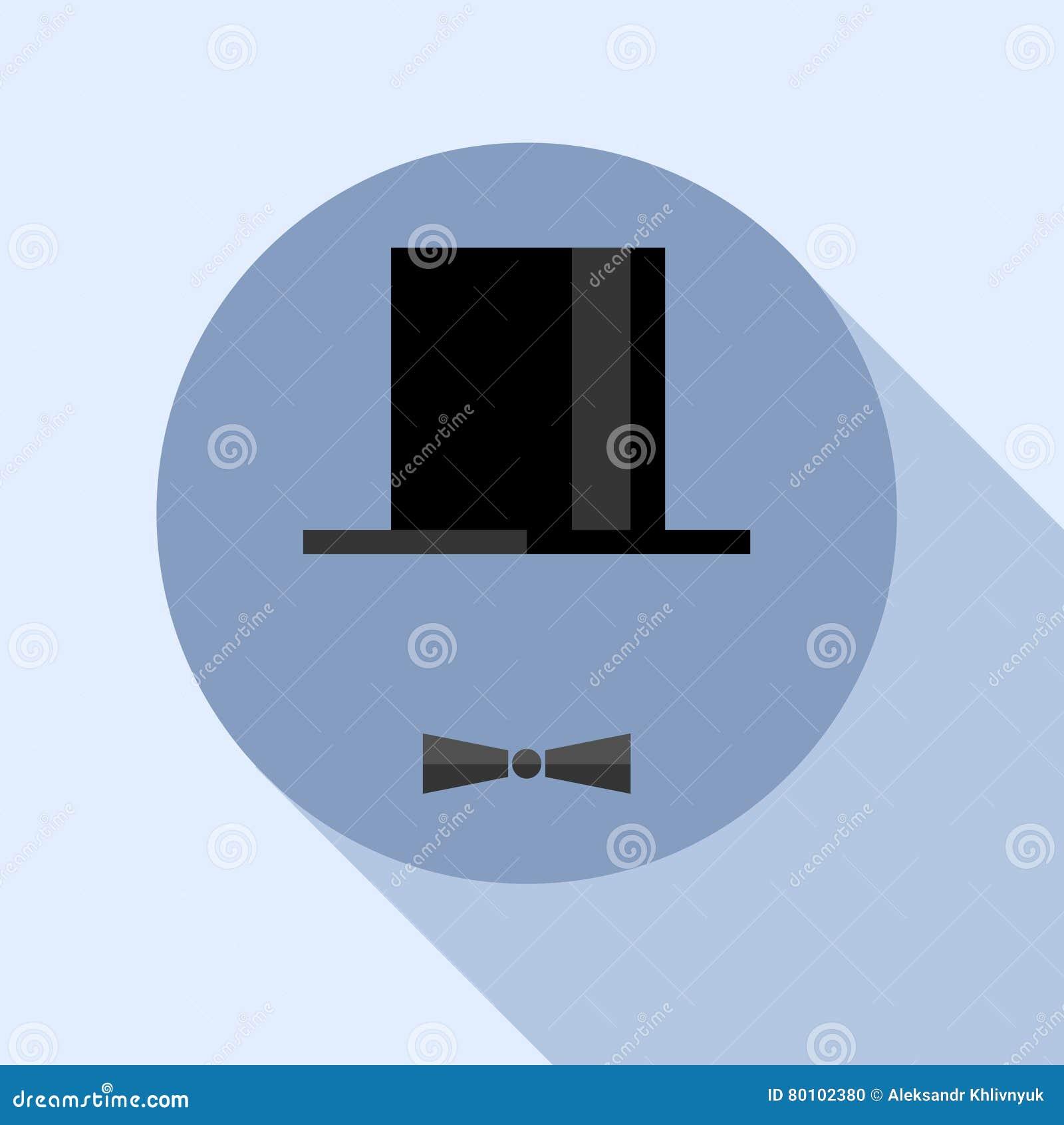 Ícone do cavalheiro isolado no fundo branco Luz do vetor art