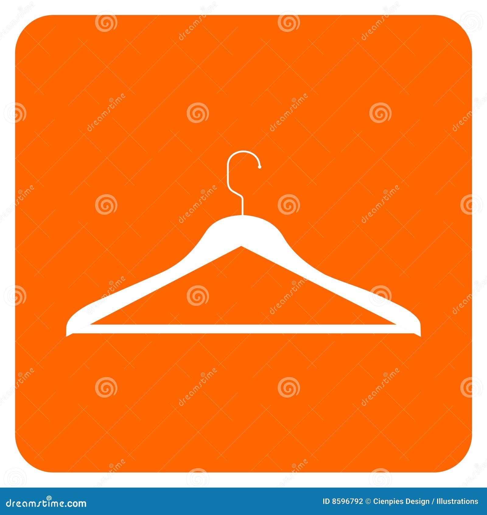 Ícone do gancho de roupa