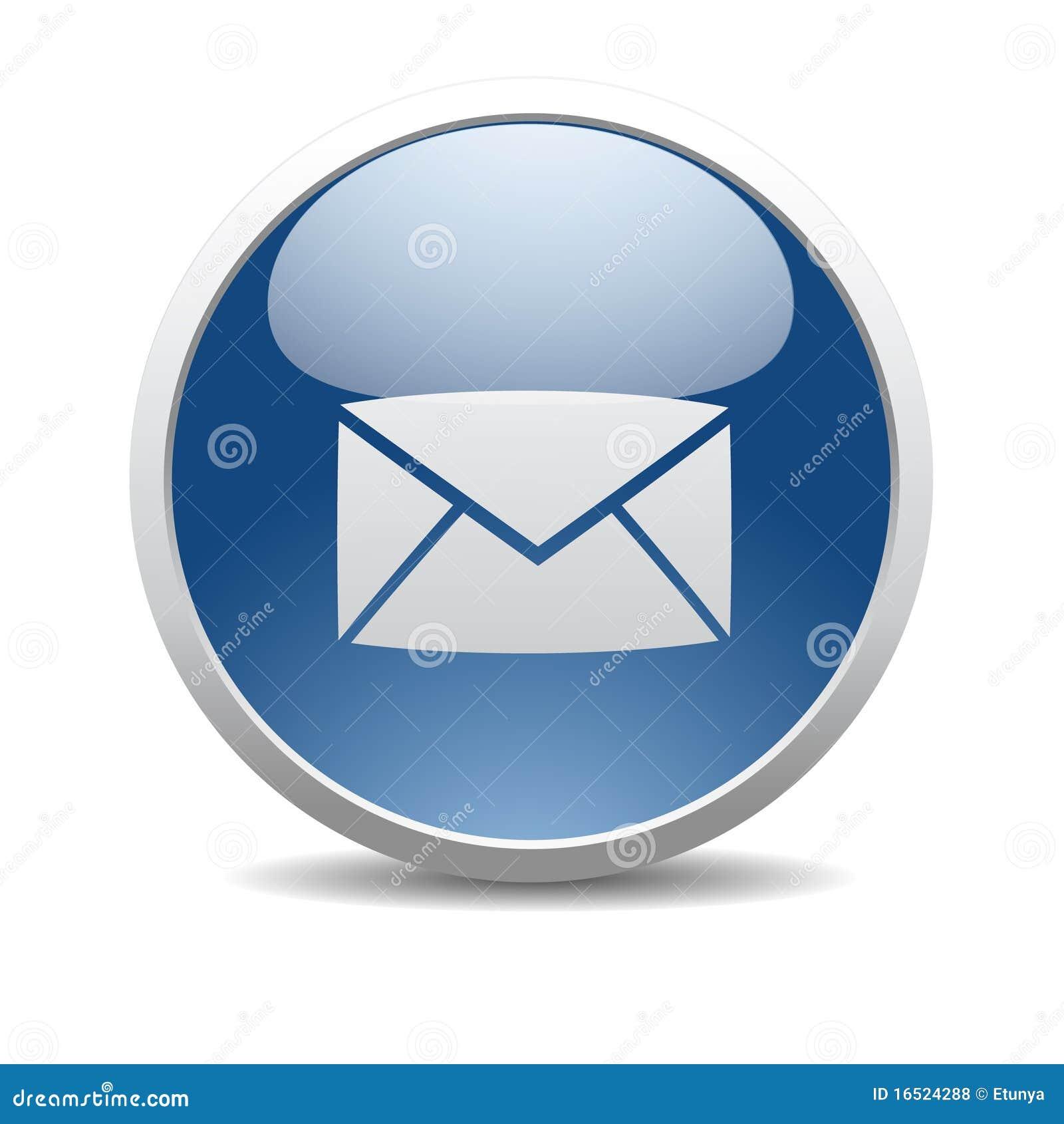 Ícone do Internet do email