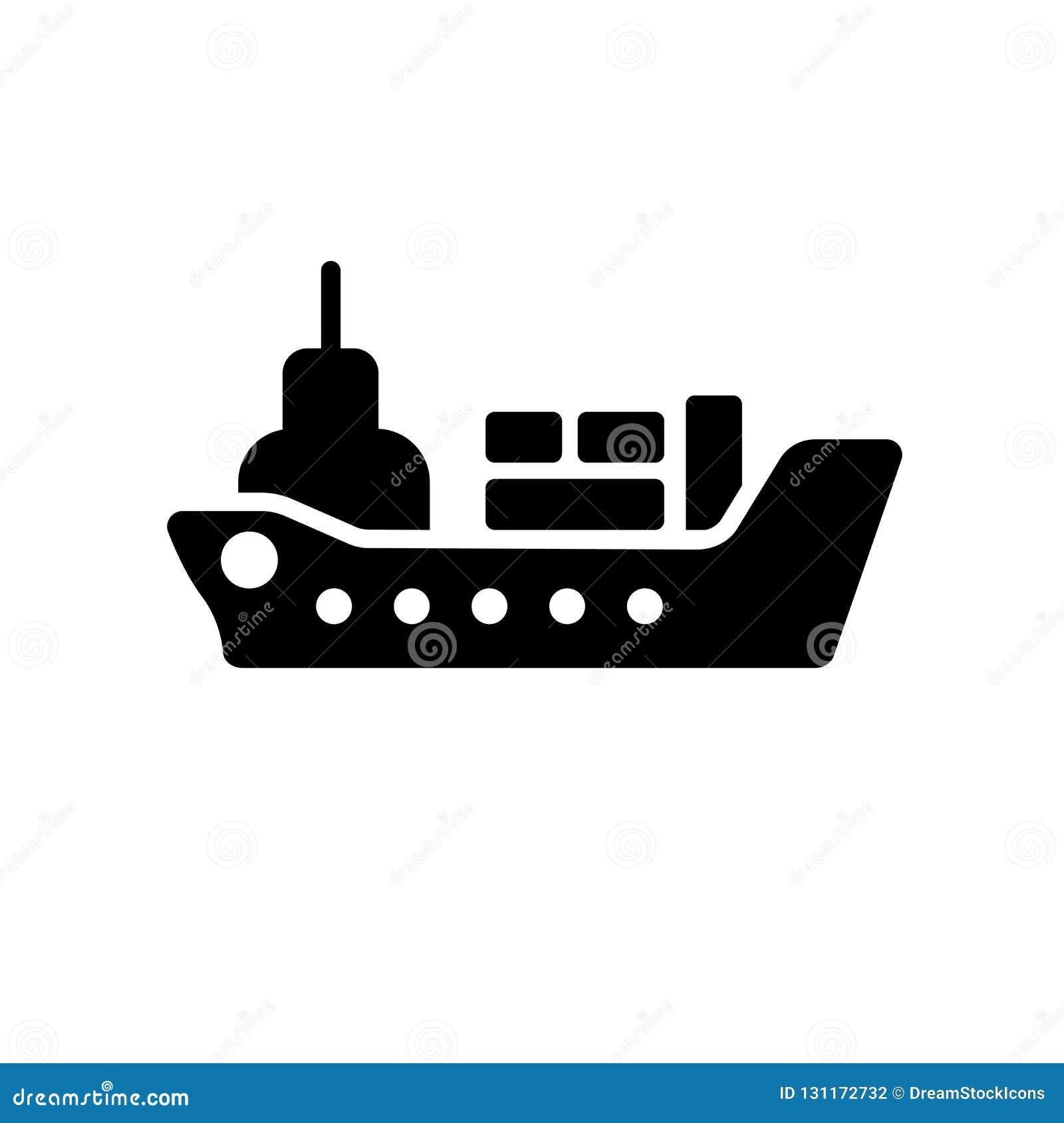 Ícone do navio de carga