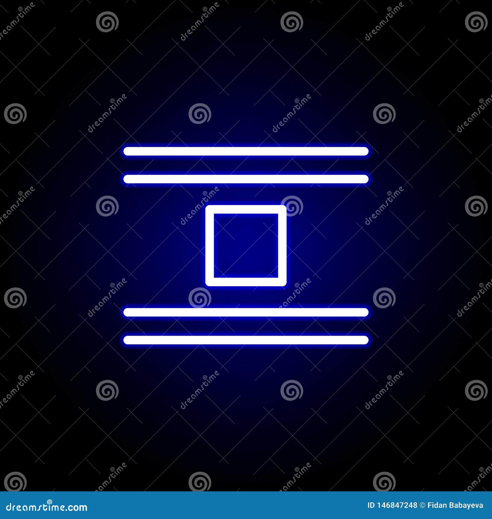 Ícone do objeto do salto no estilo de néon Pode ser usado para a Web, logotipo, app m?vel, UI, UX