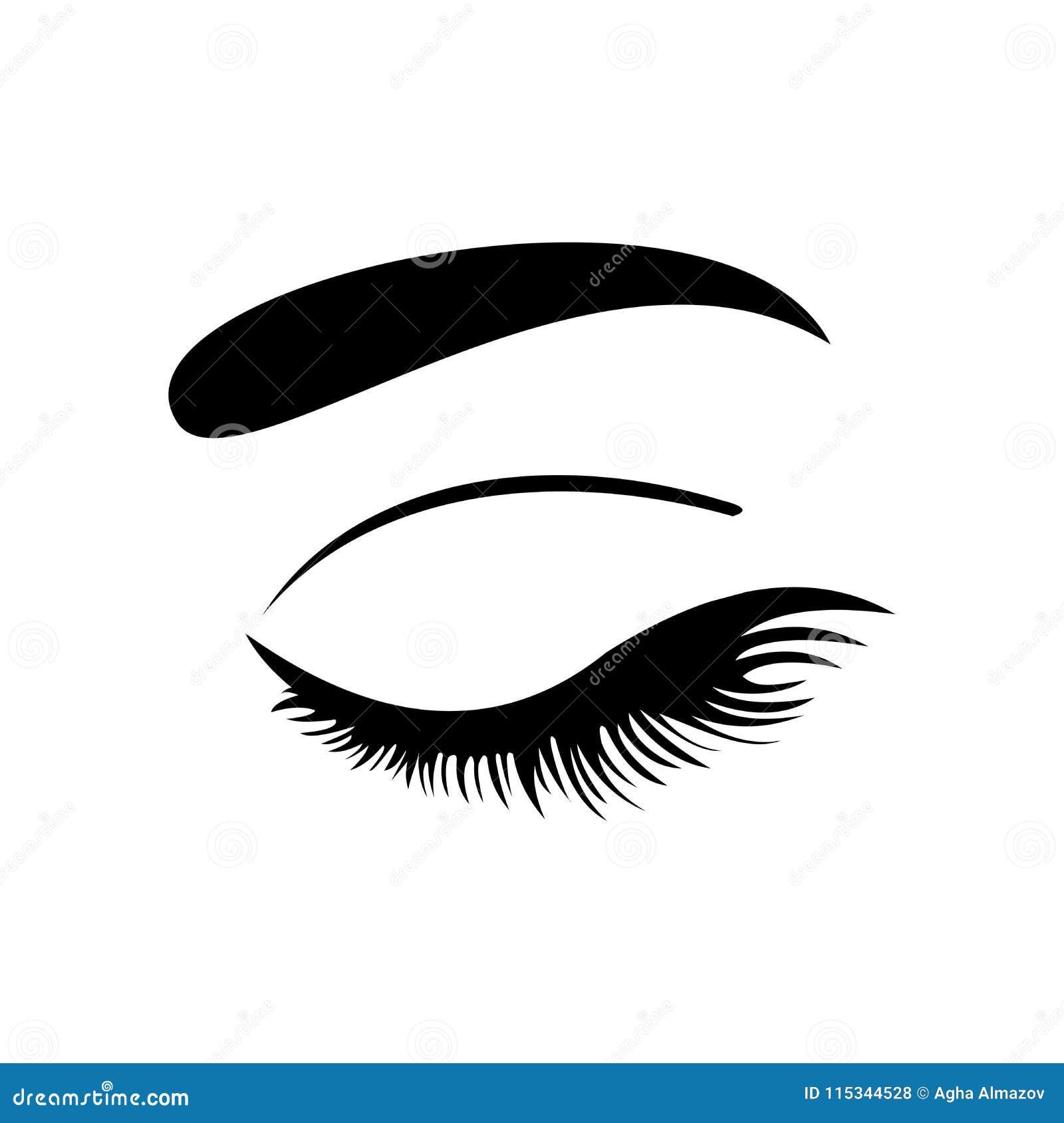 Ícone do olho Eyes o símbolo Ilustração do vetor