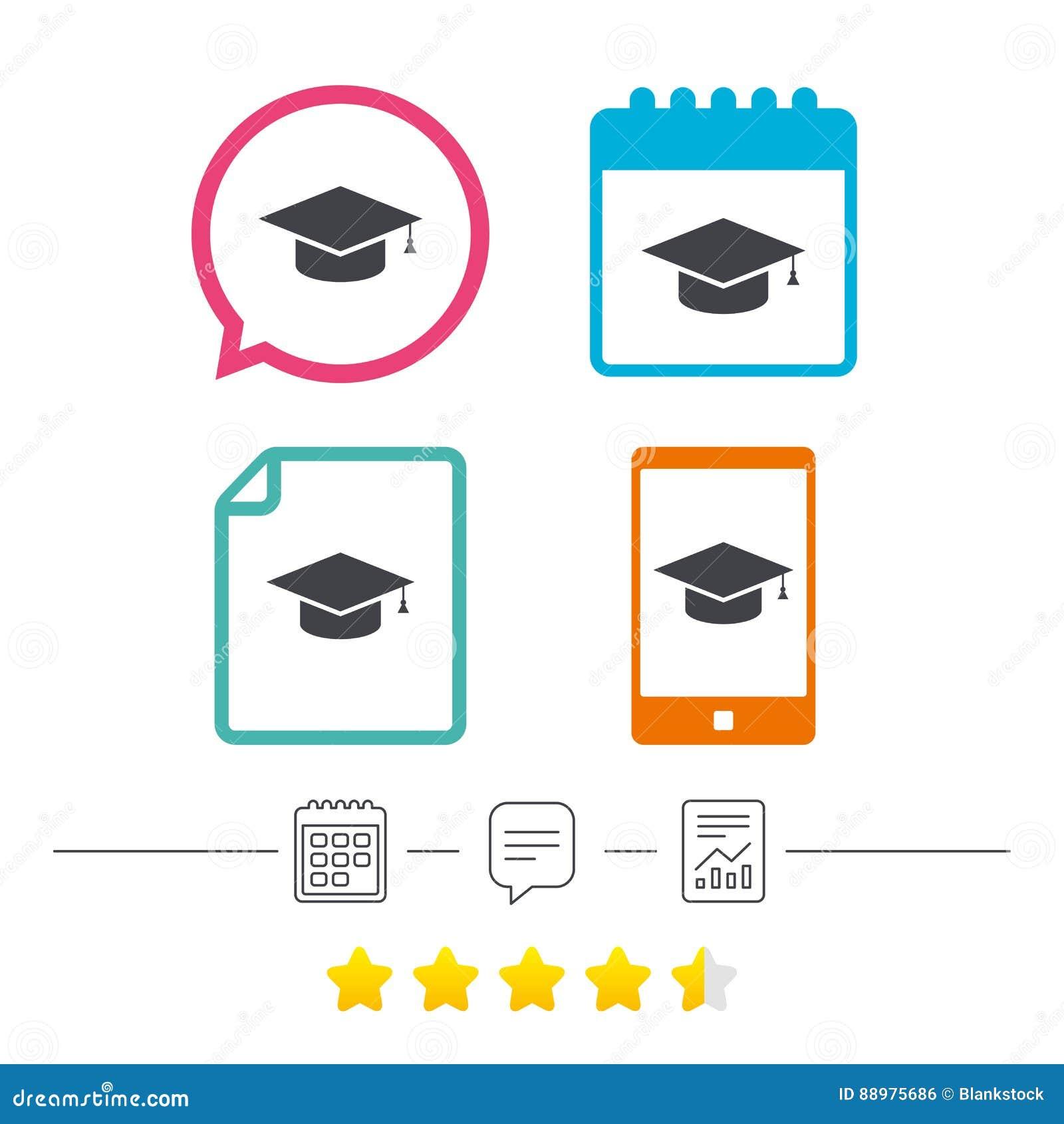 Ícone do sinal do tampão da graduação r