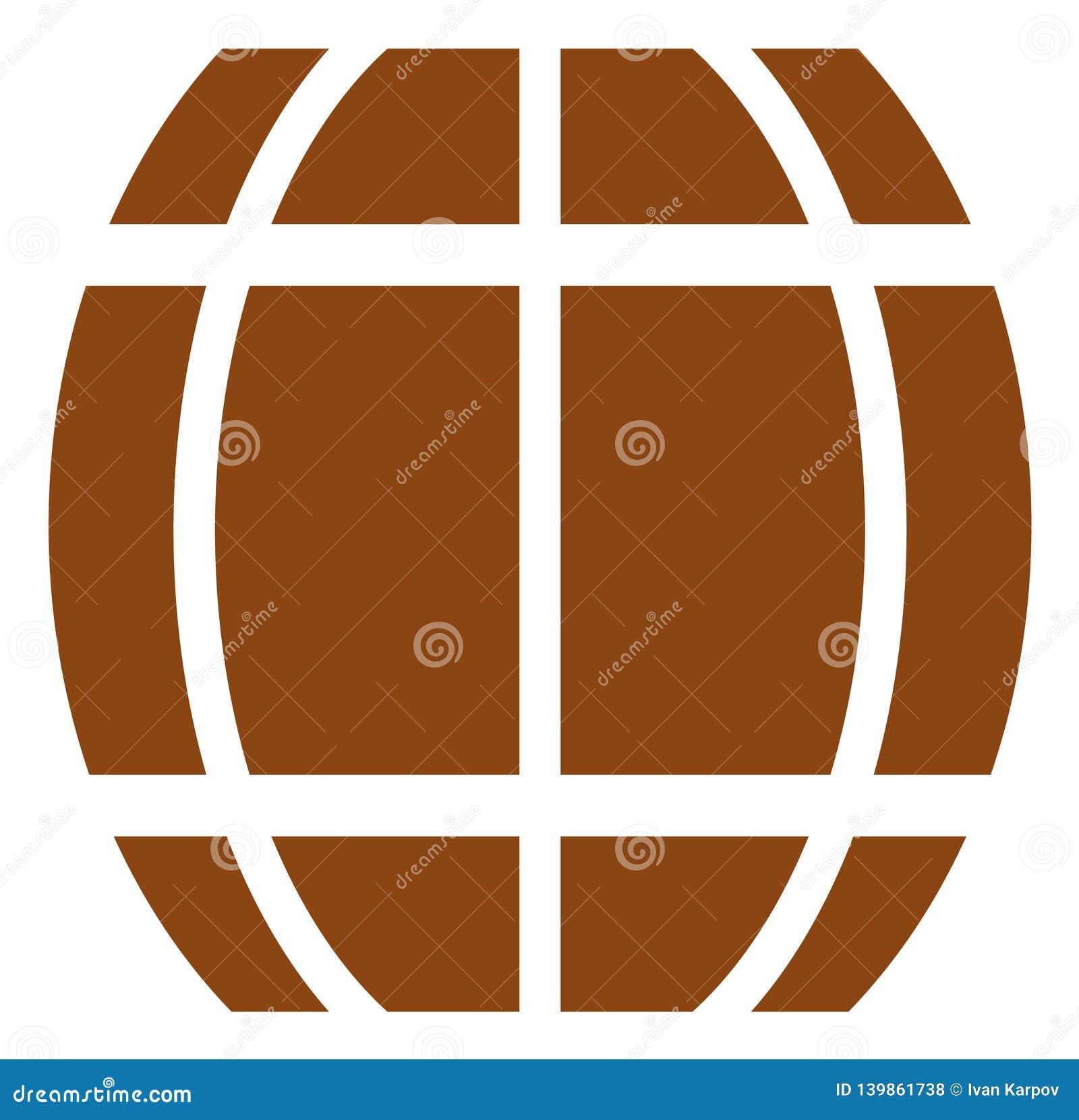 Ícone do tambor do vetor