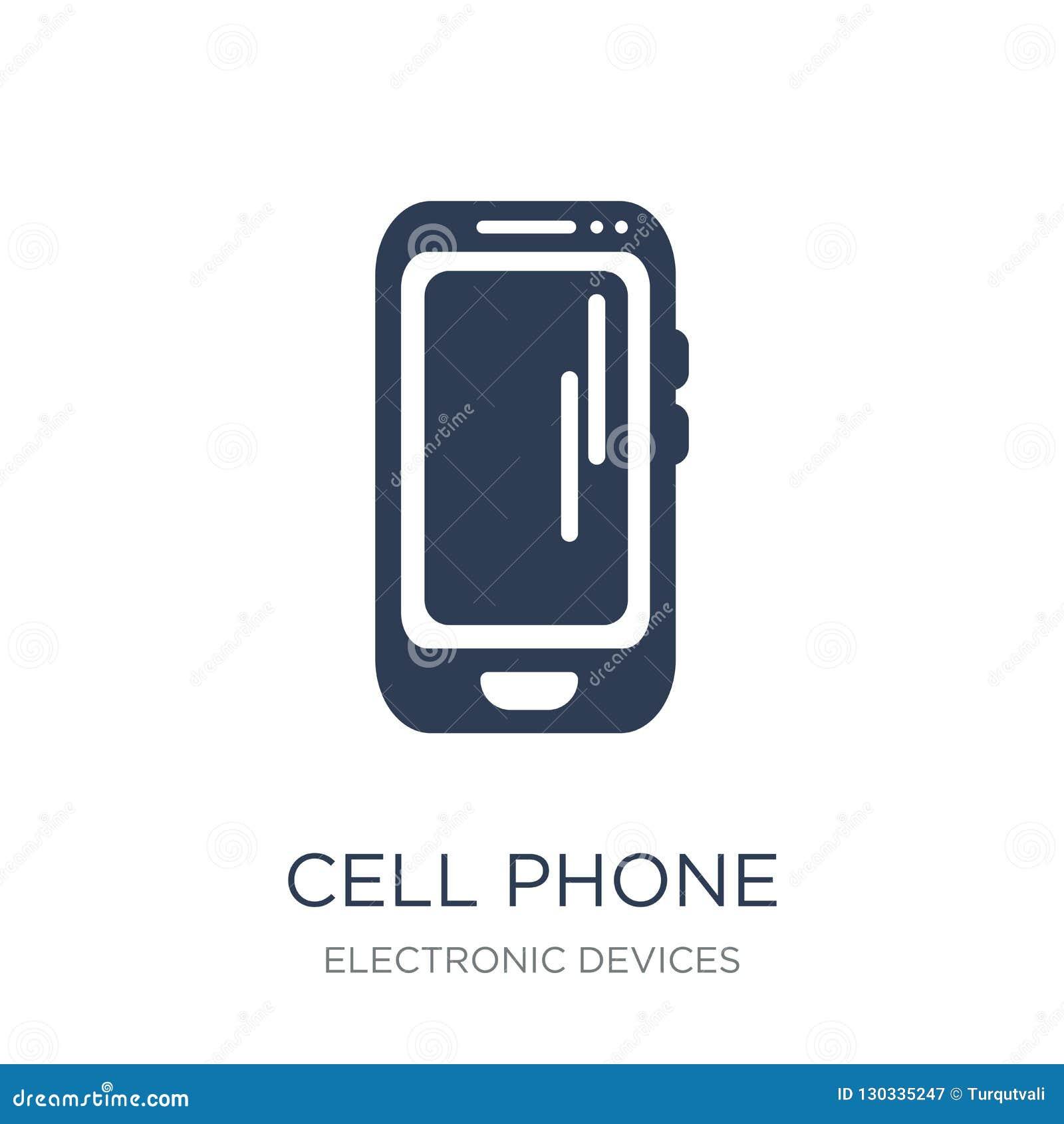 Ícone do telefone de pilha