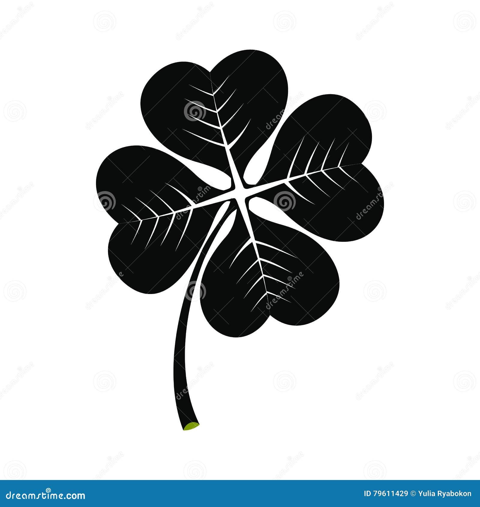 Ícone do trevo de quatro folhas