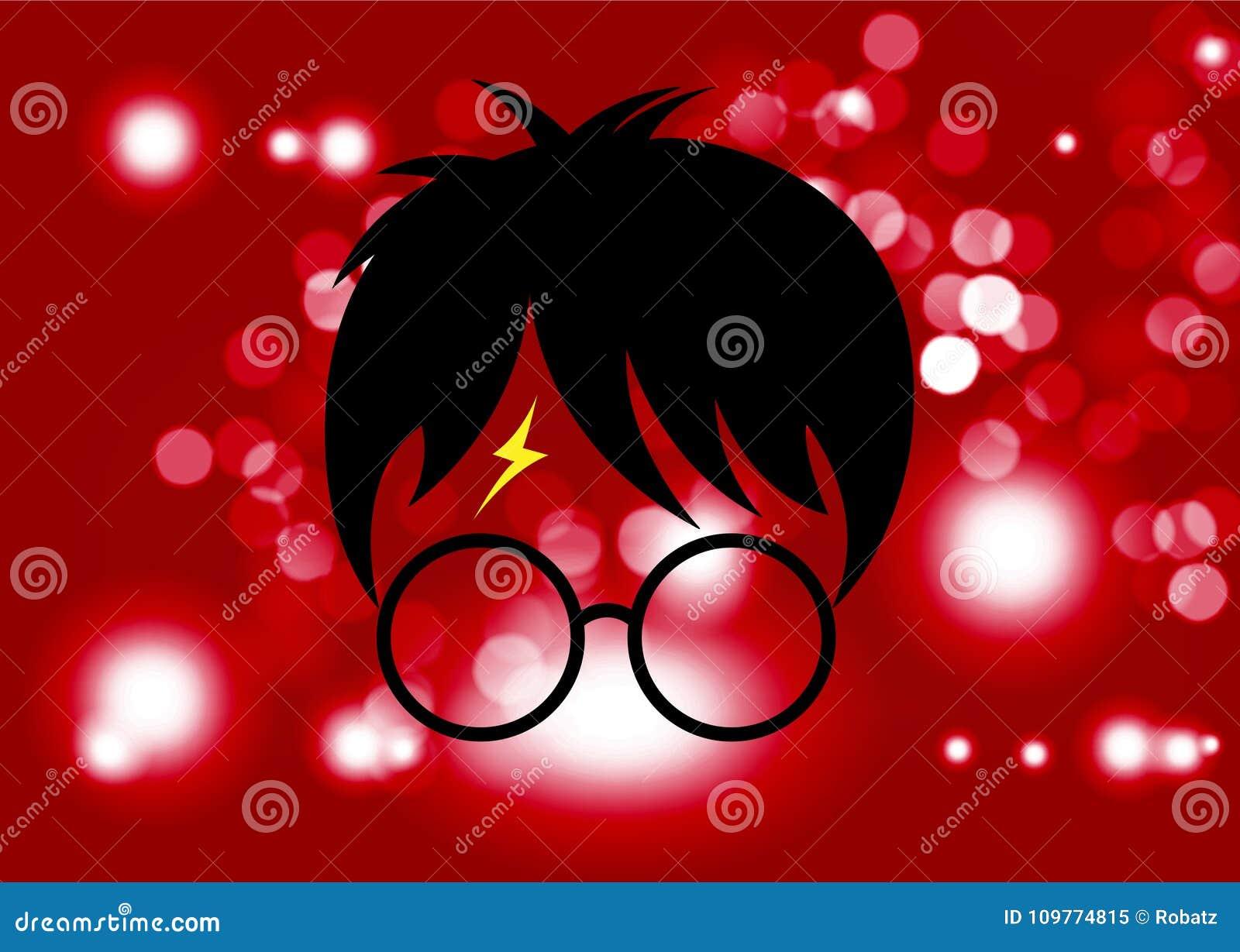 icone dos desenhos animados de harry potter vetor minimo do estilo imagem editorial ilustracao de harry potter 109774815 icone dos desenhos animados de harry