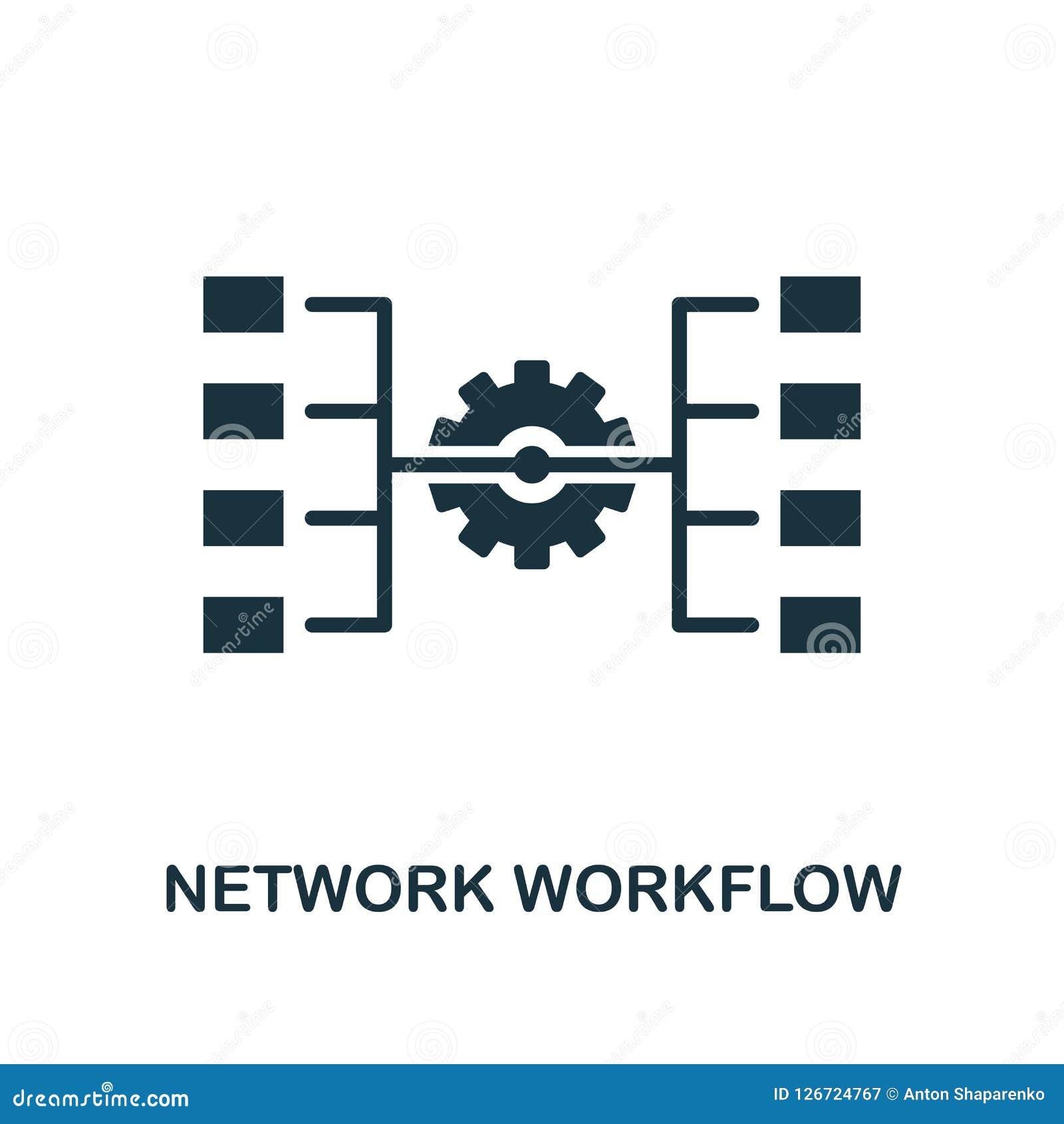 ícone dos trabalhos da rede Projeto monocromático do estilo da coleção grande do ícone dos dados Ui Trabalhos simples perfeitos d