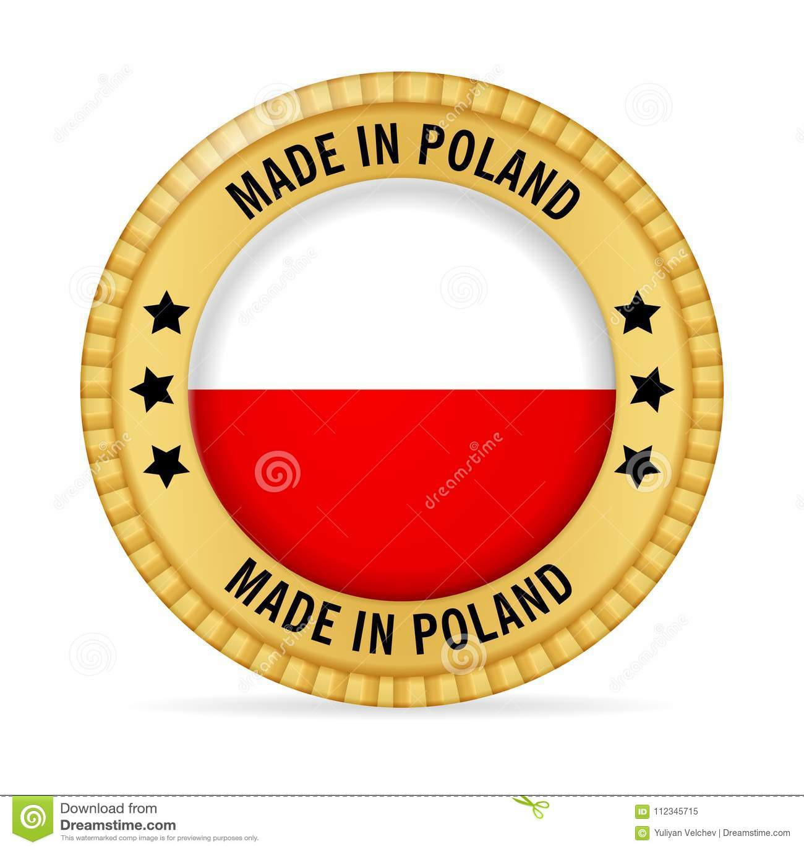 Ícone feito no Polônia