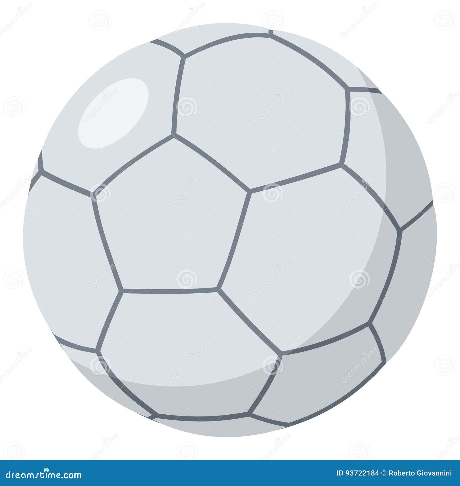 b9b9851d6604c Ícone Liso Da Bola De Futsal Isolado No Branco Ilustração do Vetor ...