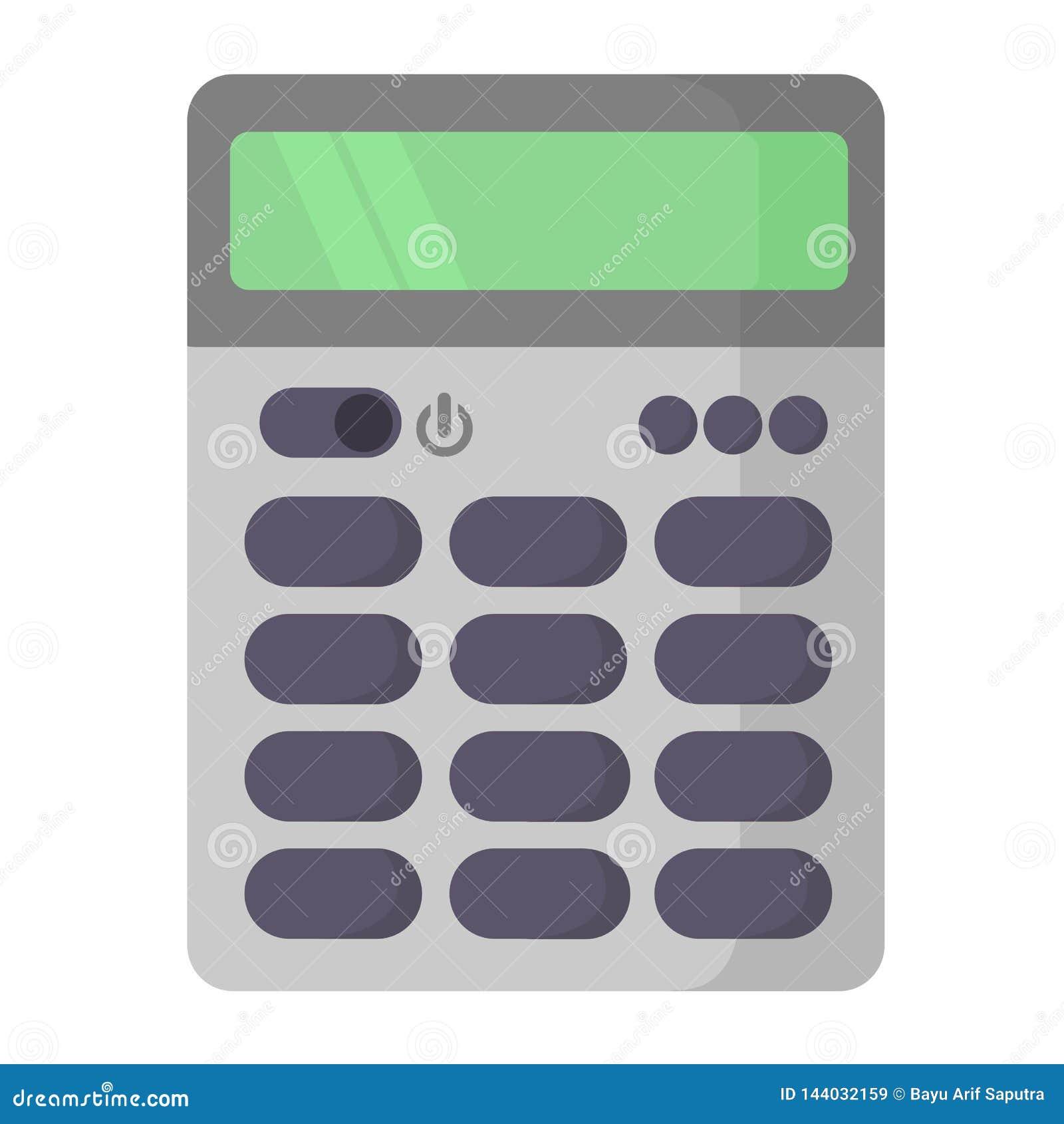 Ícone liso da calculadora simples