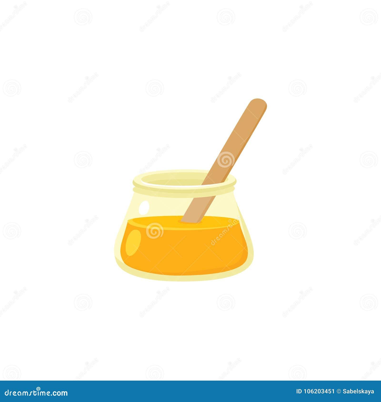 Ícone liso de adoçar a pasta, açúcar que encera o conceito