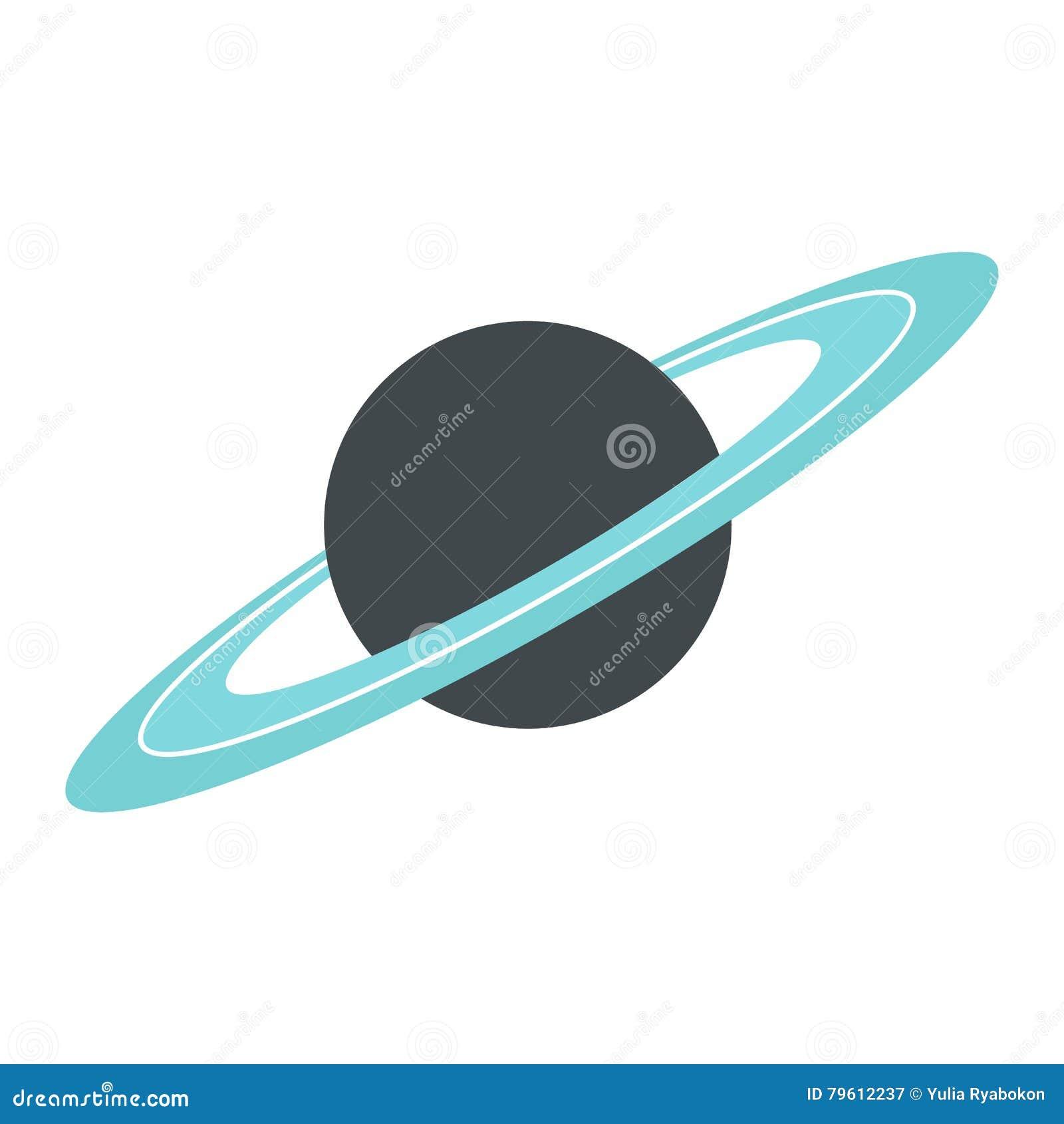 Ícone liso de Saturn
