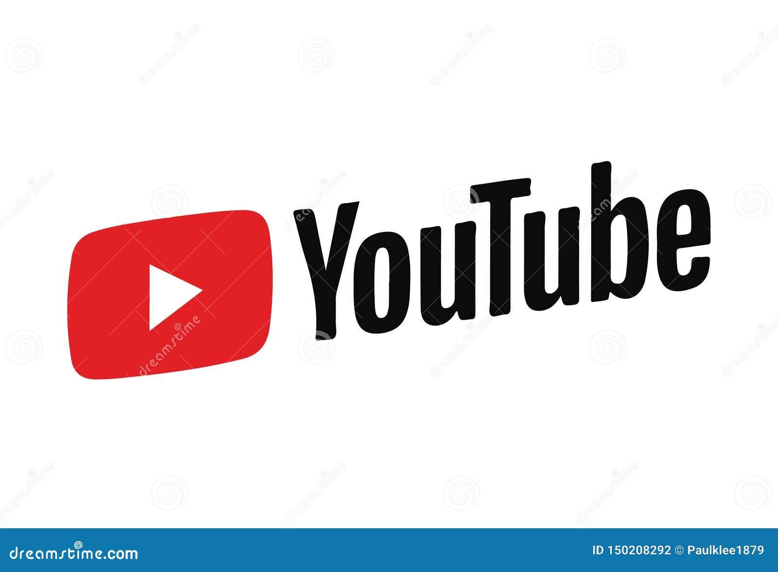 Ícone Logo Vetora Illustration de Youtube