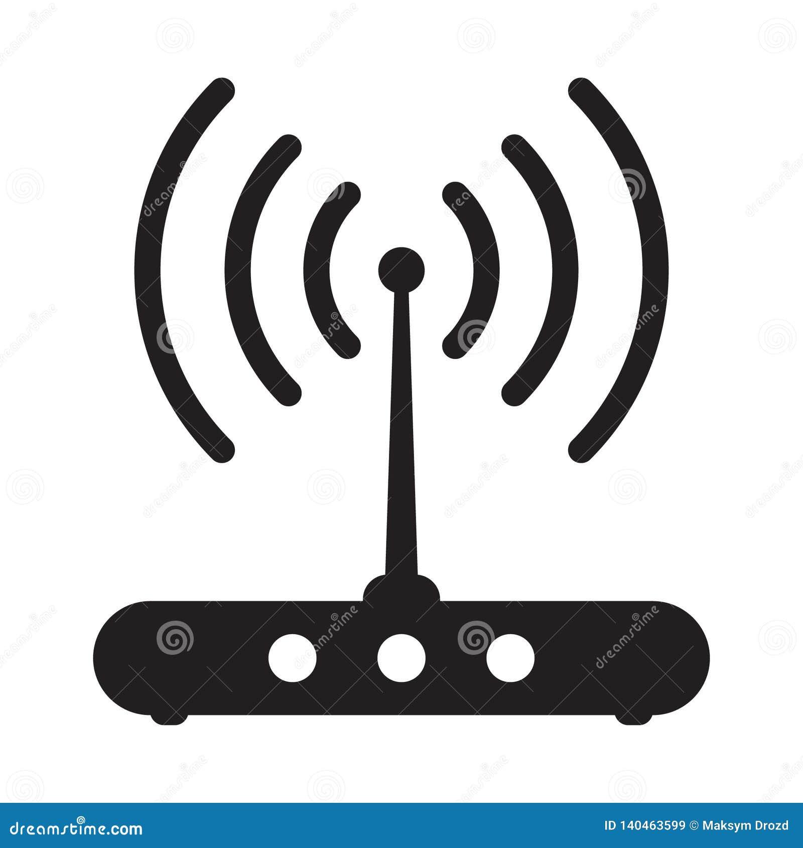 Ícone relacionado do sinal do router