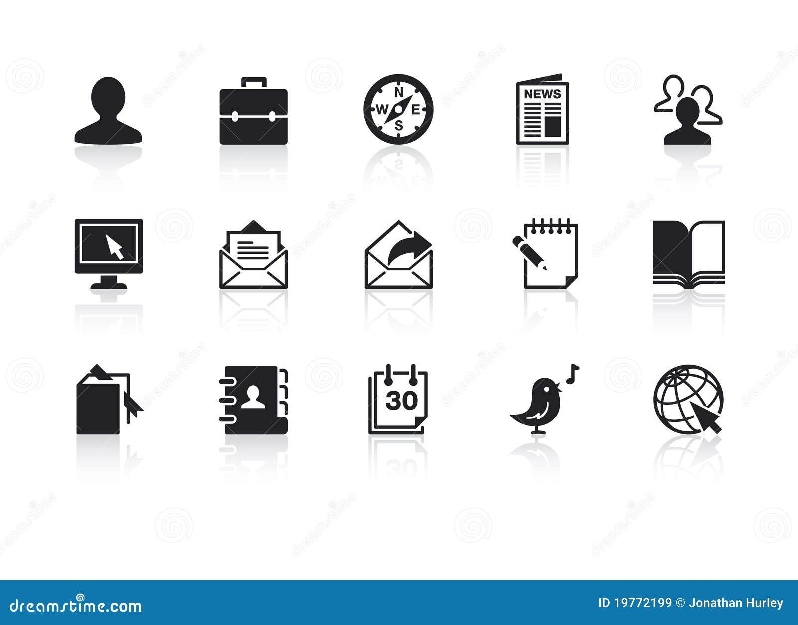 Ícones 2 do Web