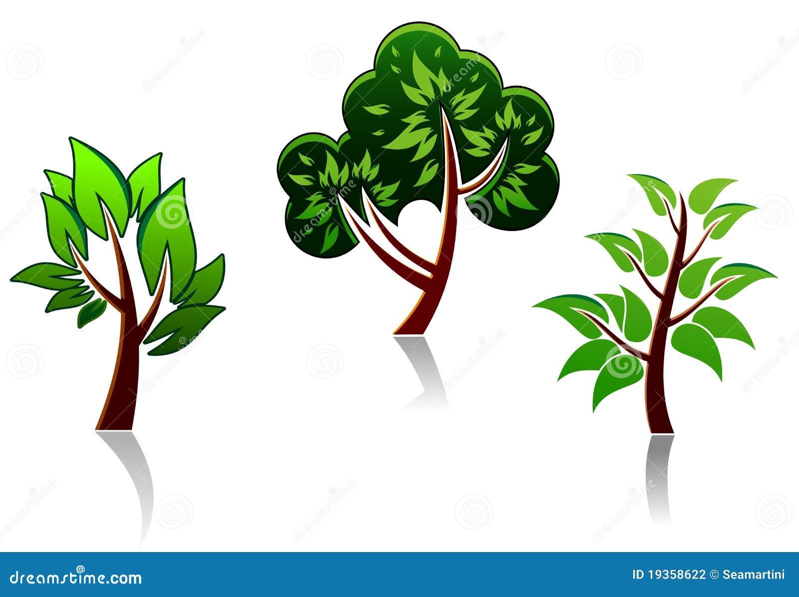 Ícones da árvore