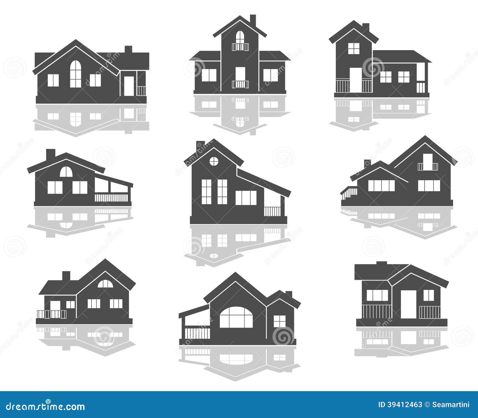 Ícones da casa ajustados