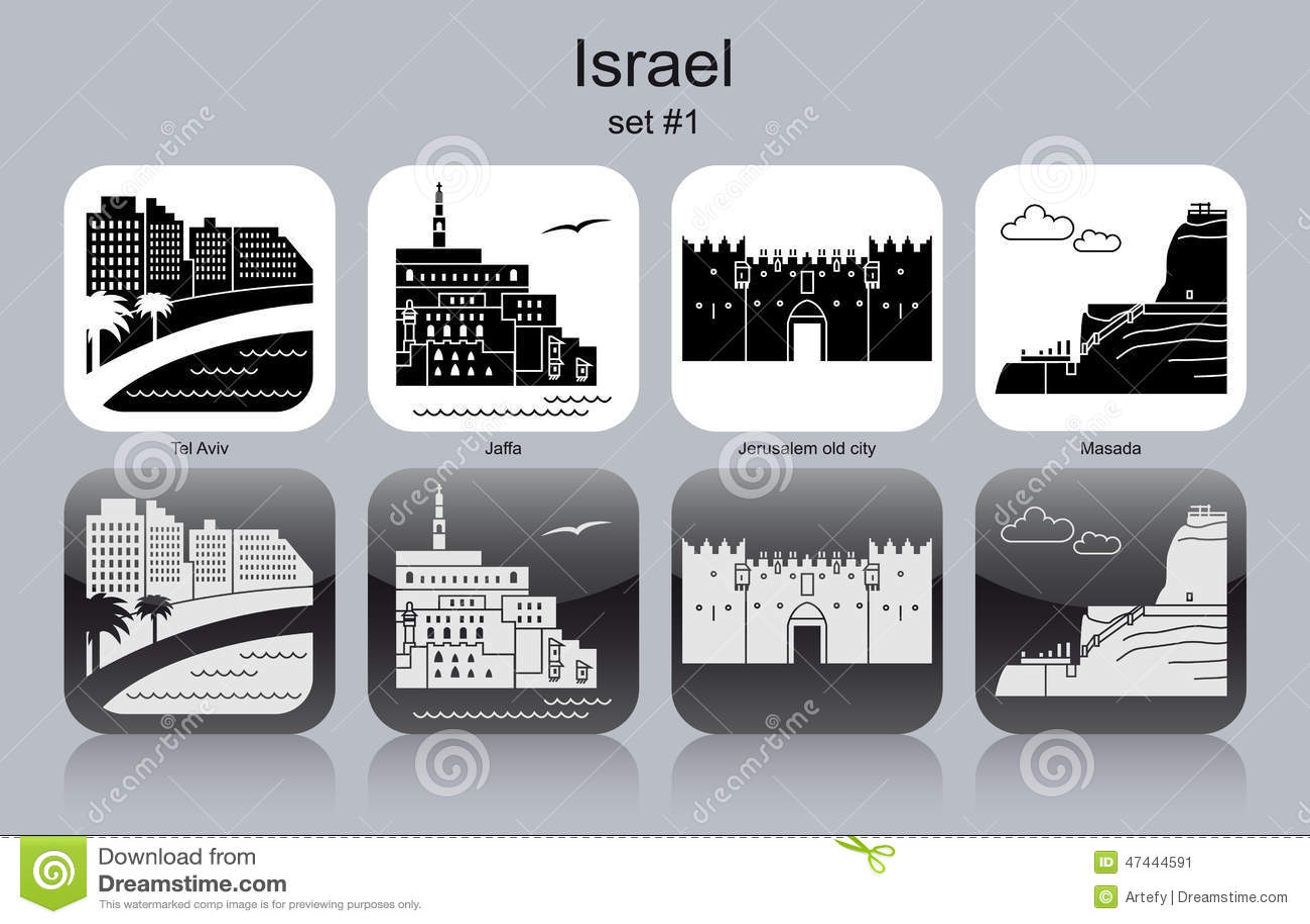 Ícones de Israel