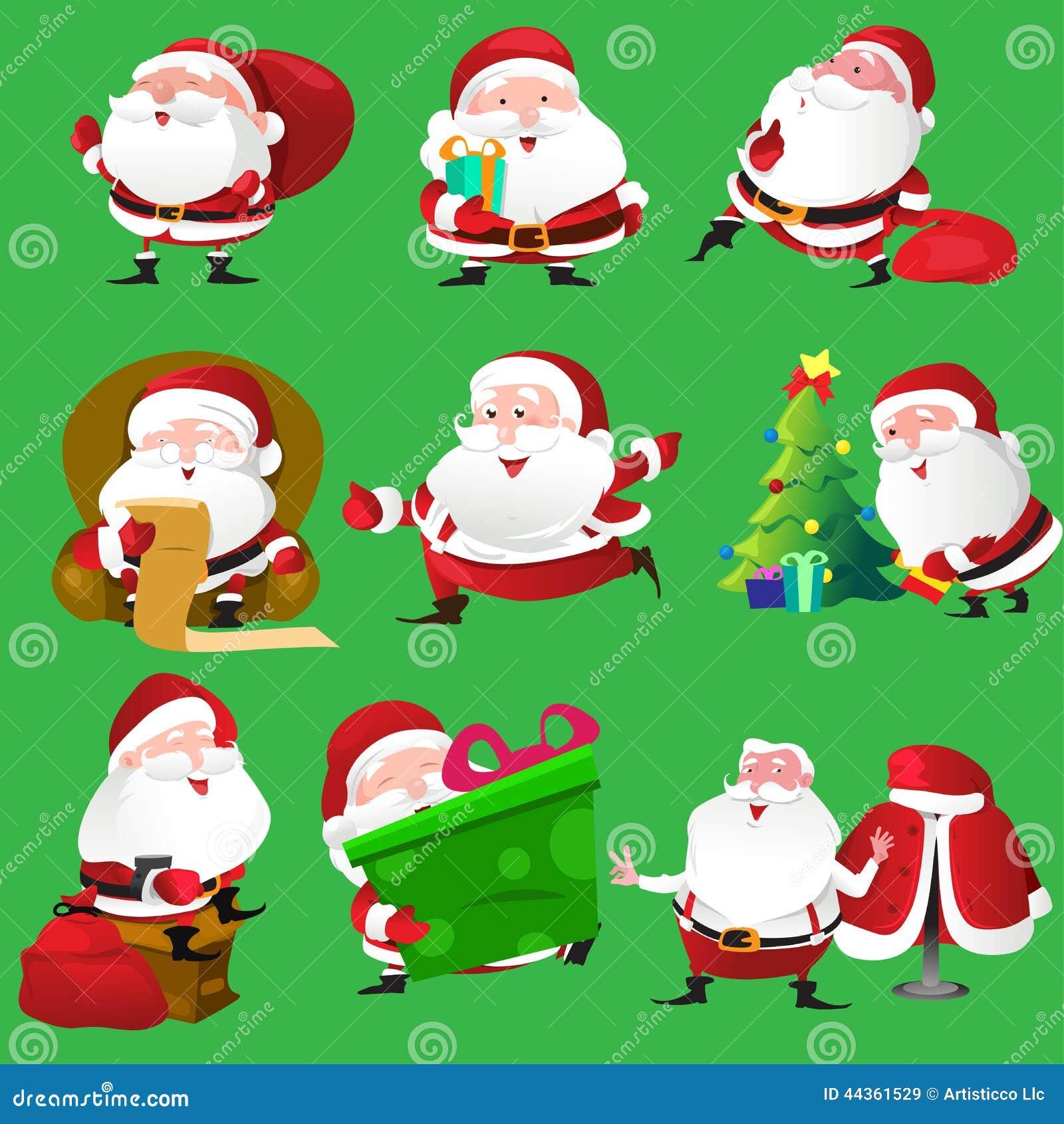 Ícones de Santa Claus