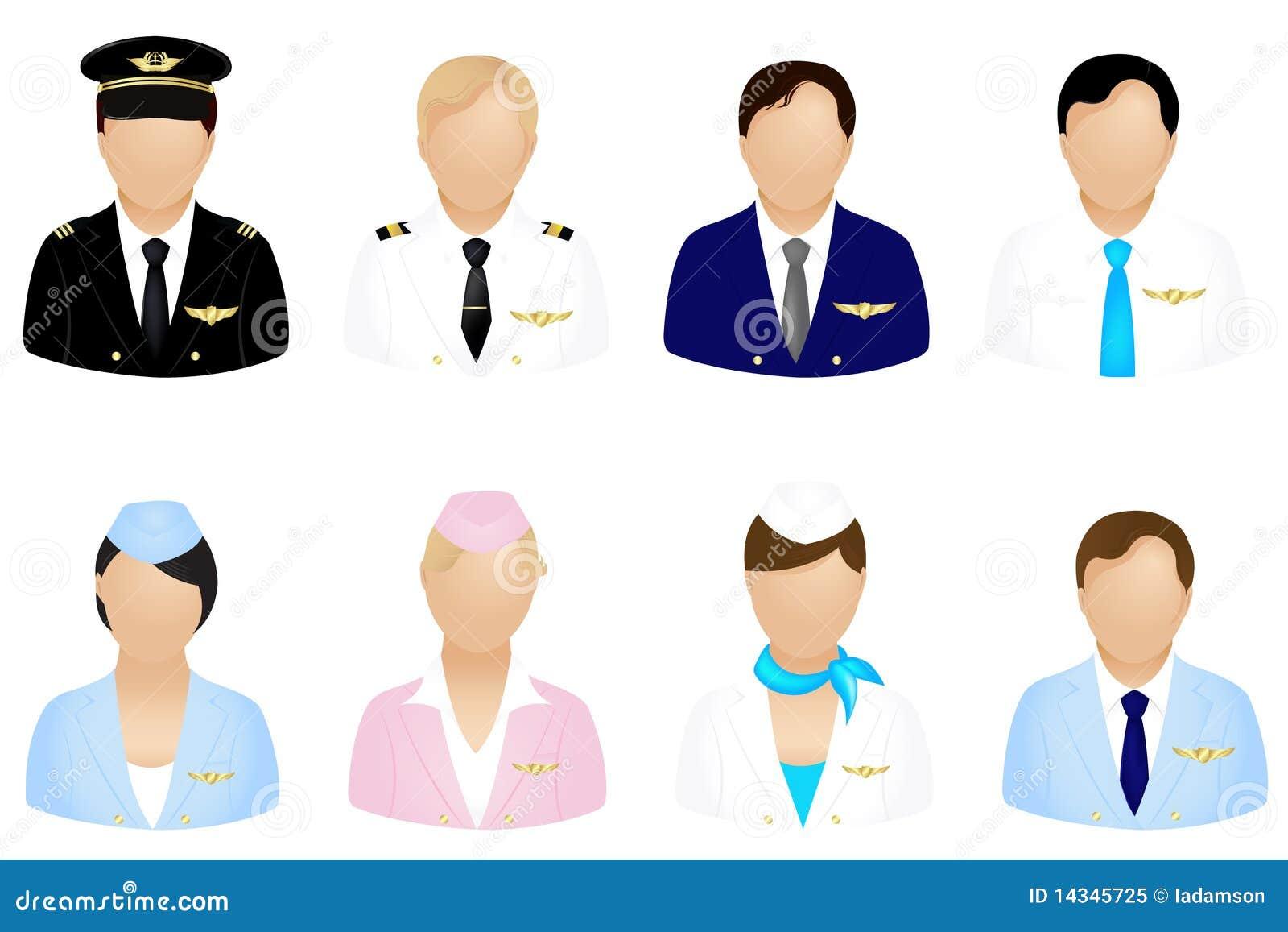 Ícones do grupo de aviões
