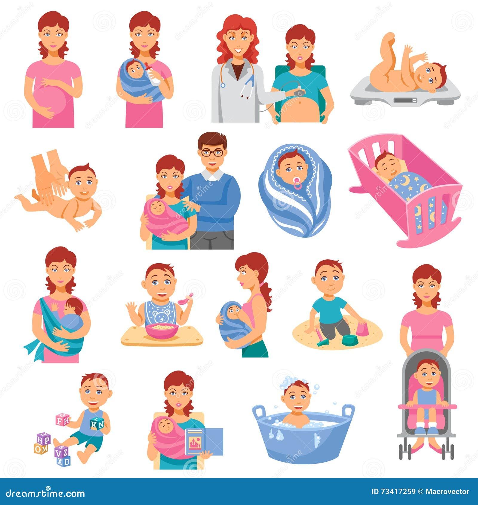 Ícones dos pais ajustados