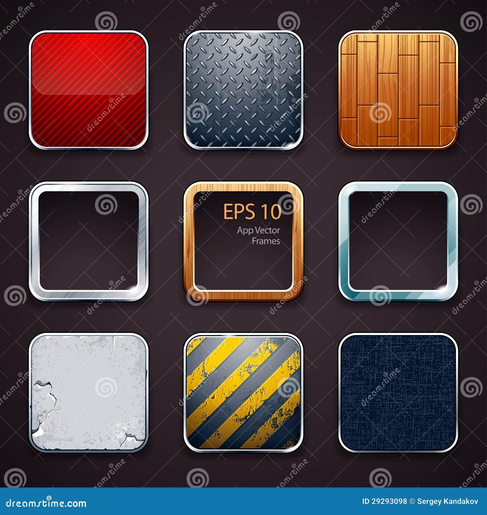Ícones materiais