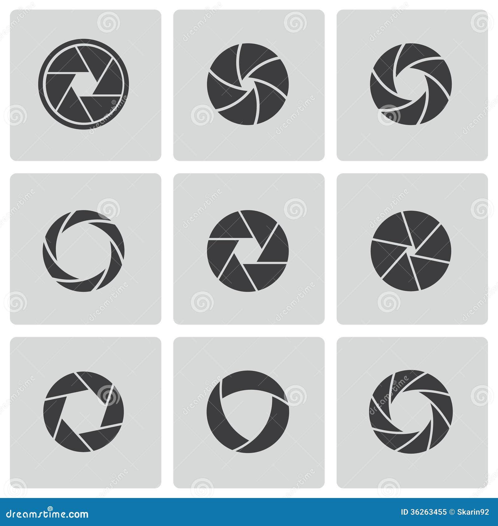 Diafragma Ilustração Do Vetor Ilustração De Fundo Câmera 11675002