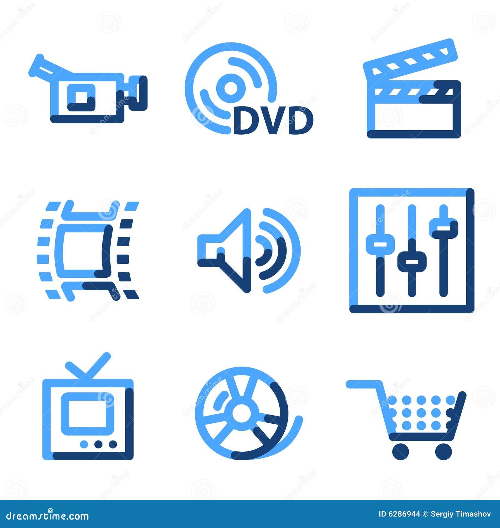 Ícones video