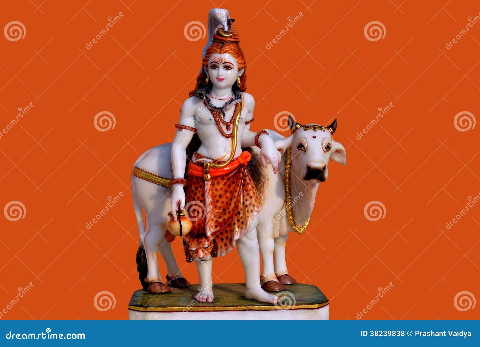 Ídolo de Lord Shiva do mármore