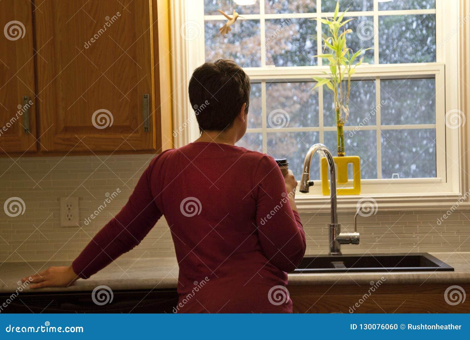 Índice em casa no inverno