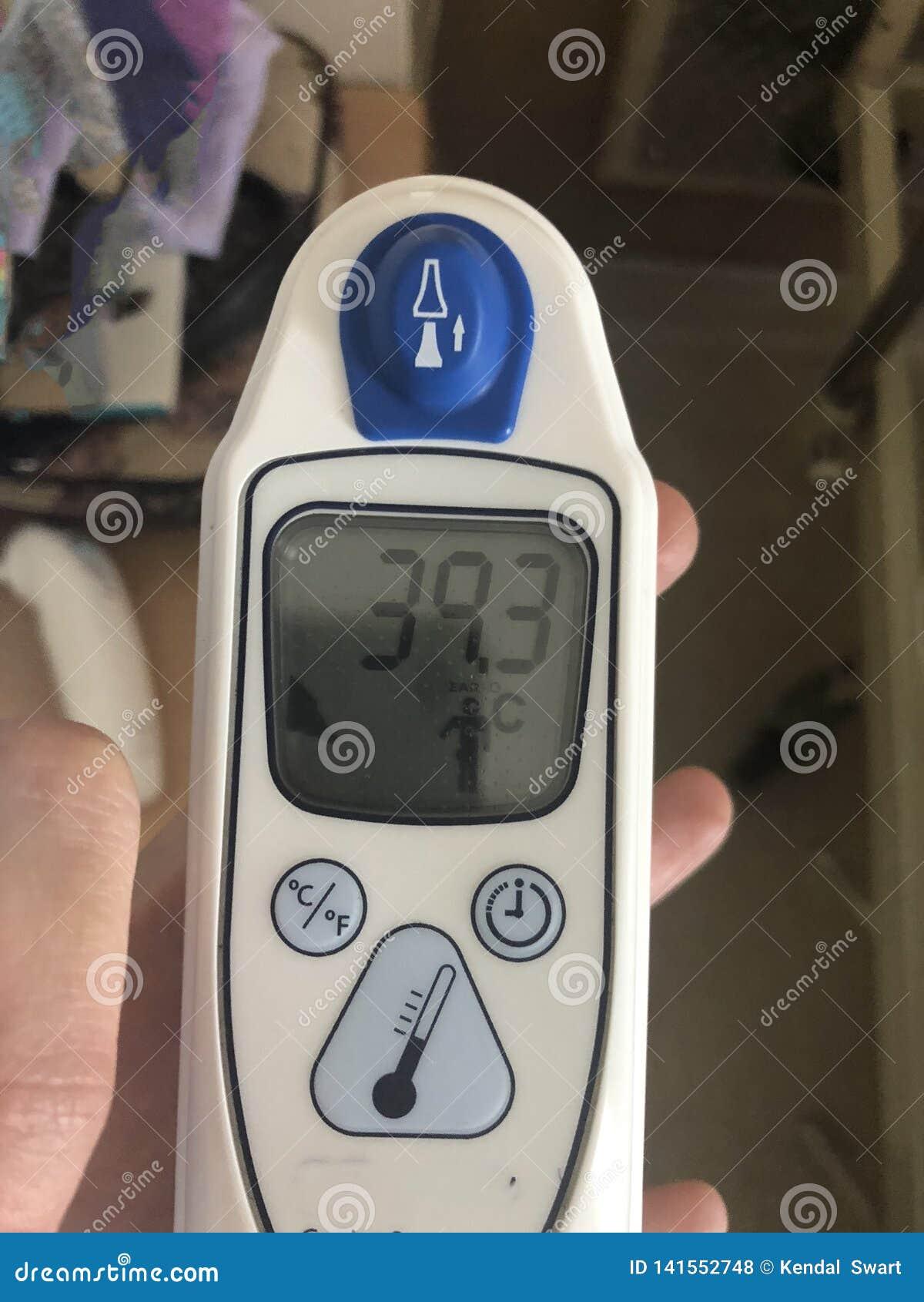 Ένα θερμόμετρο