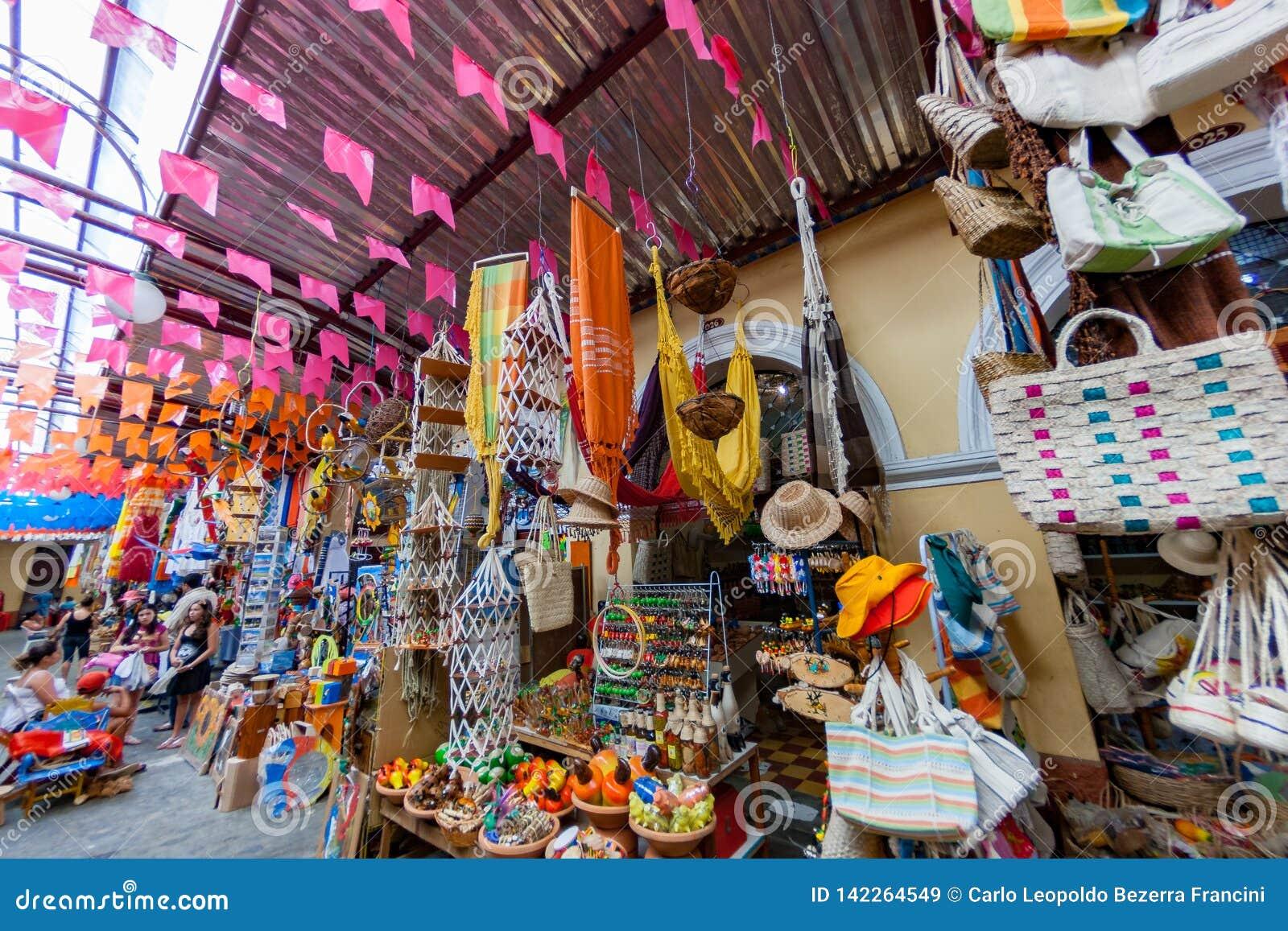 Αγορά οδών τεχνών χεριών Aracaju