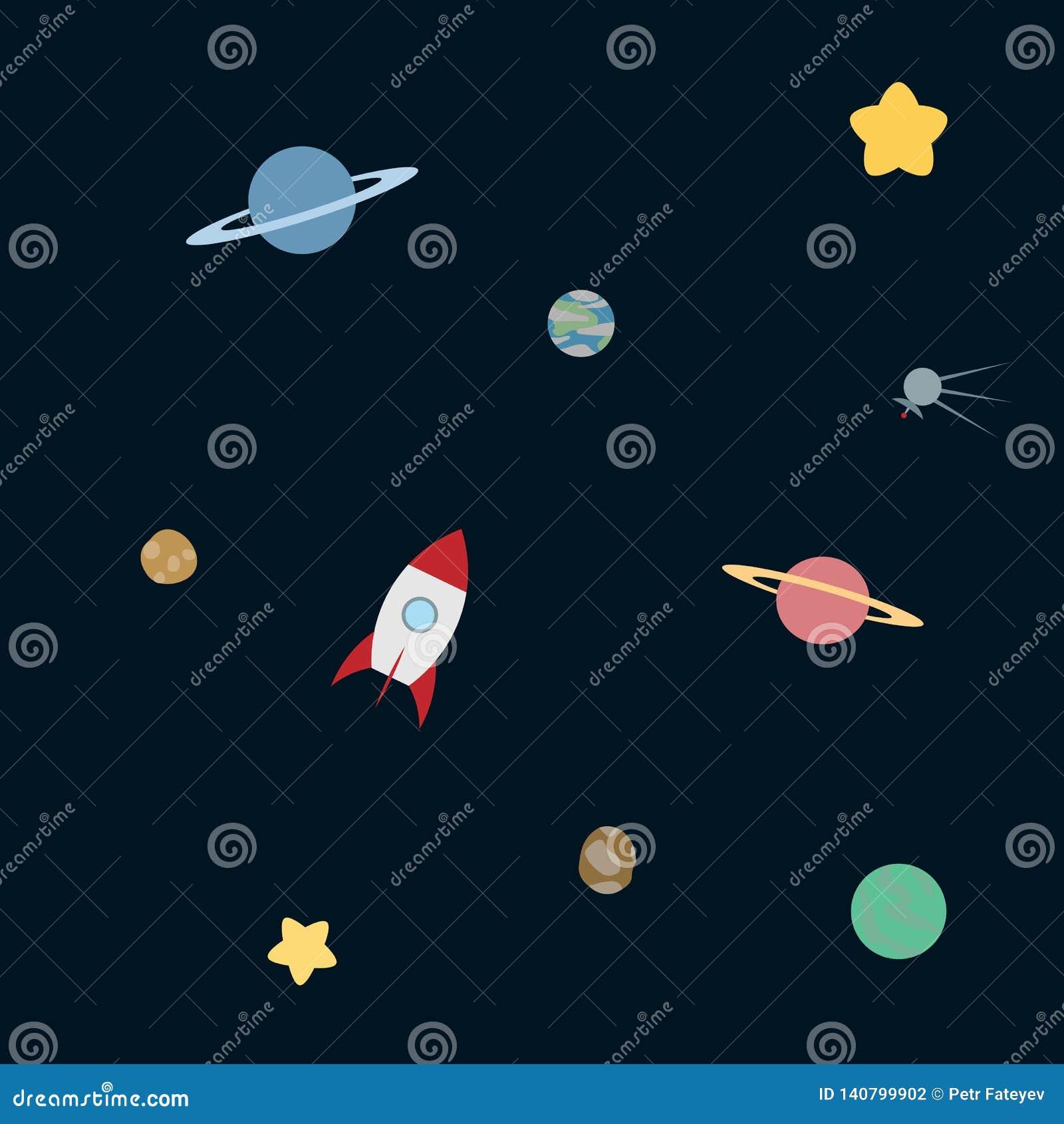 Απλό διαστημικό σχέδιο
