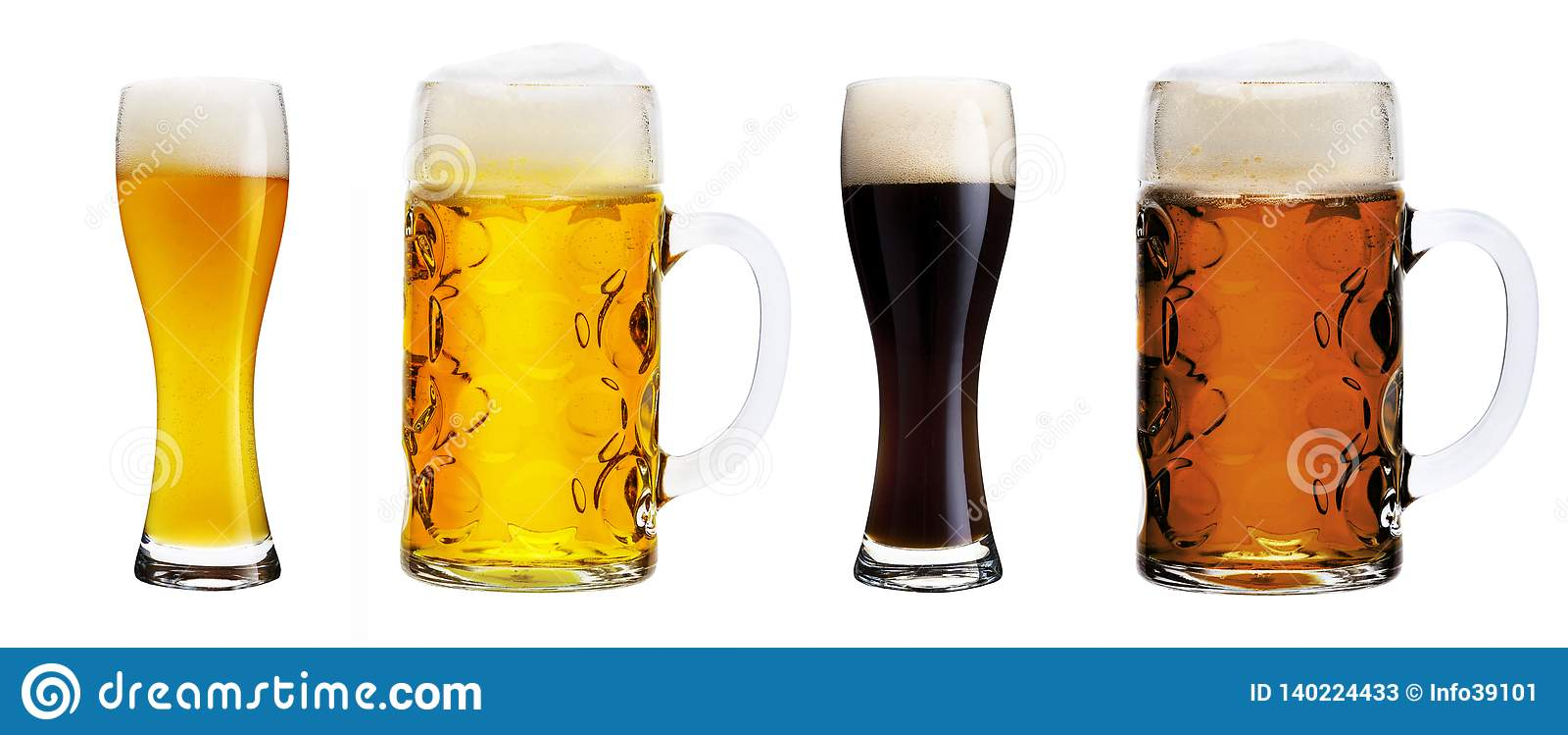 γυαλιά μπύρας διάφορα