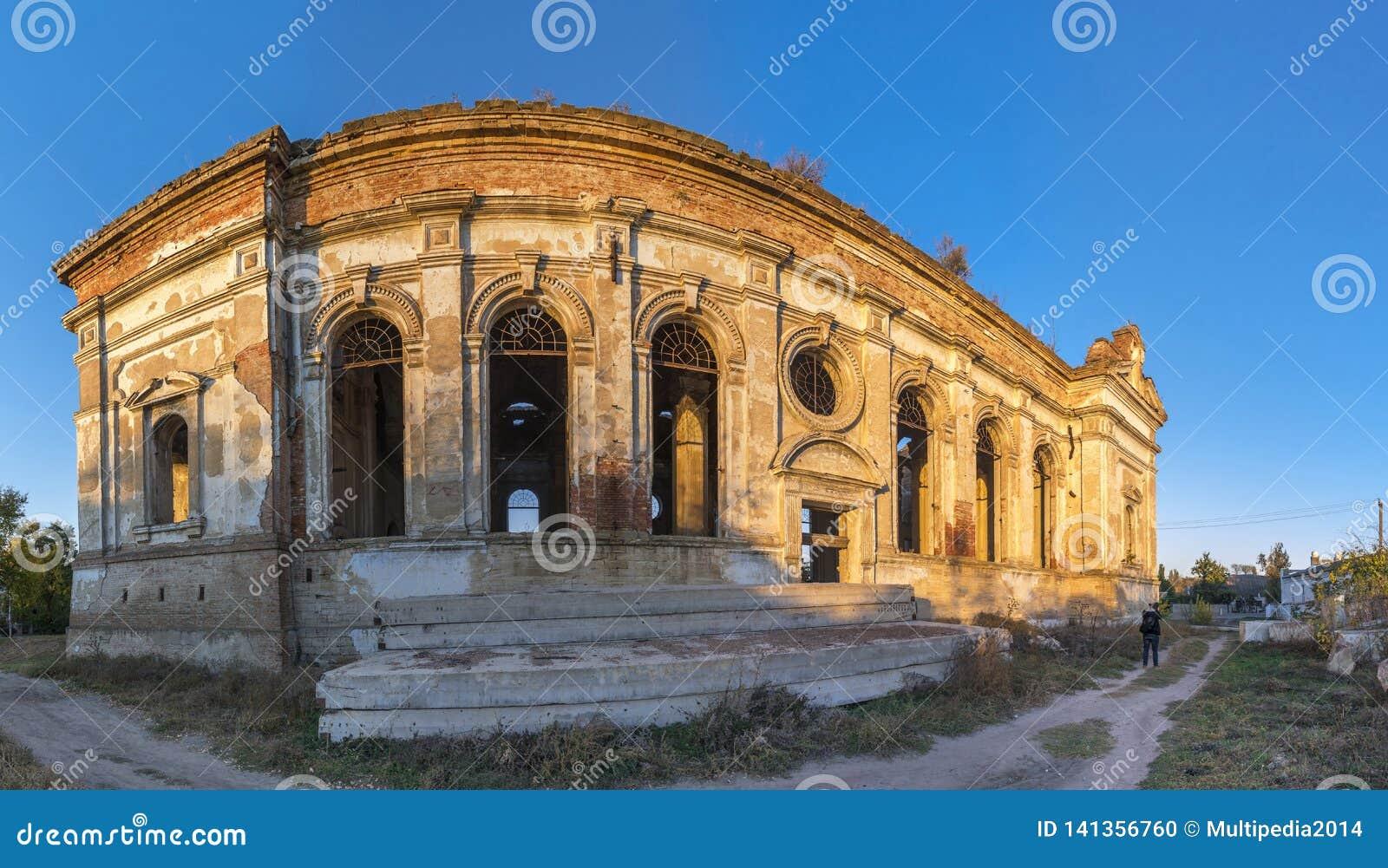 Εγκαταλειμμένη καθολική εκκλησία Zelts, Ουκρανία