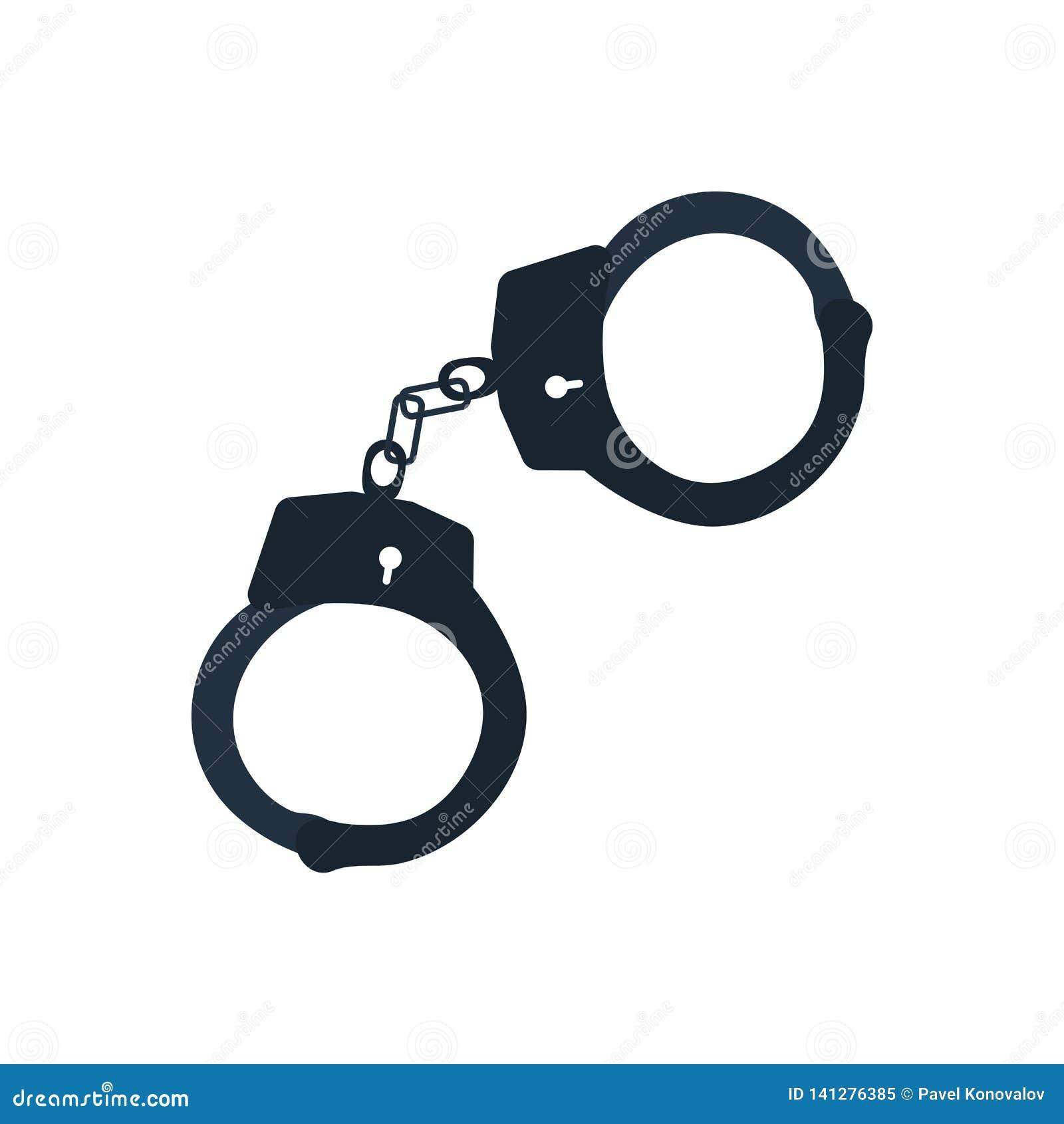 Εικονίδιο χειροπεδών αστυνομίας