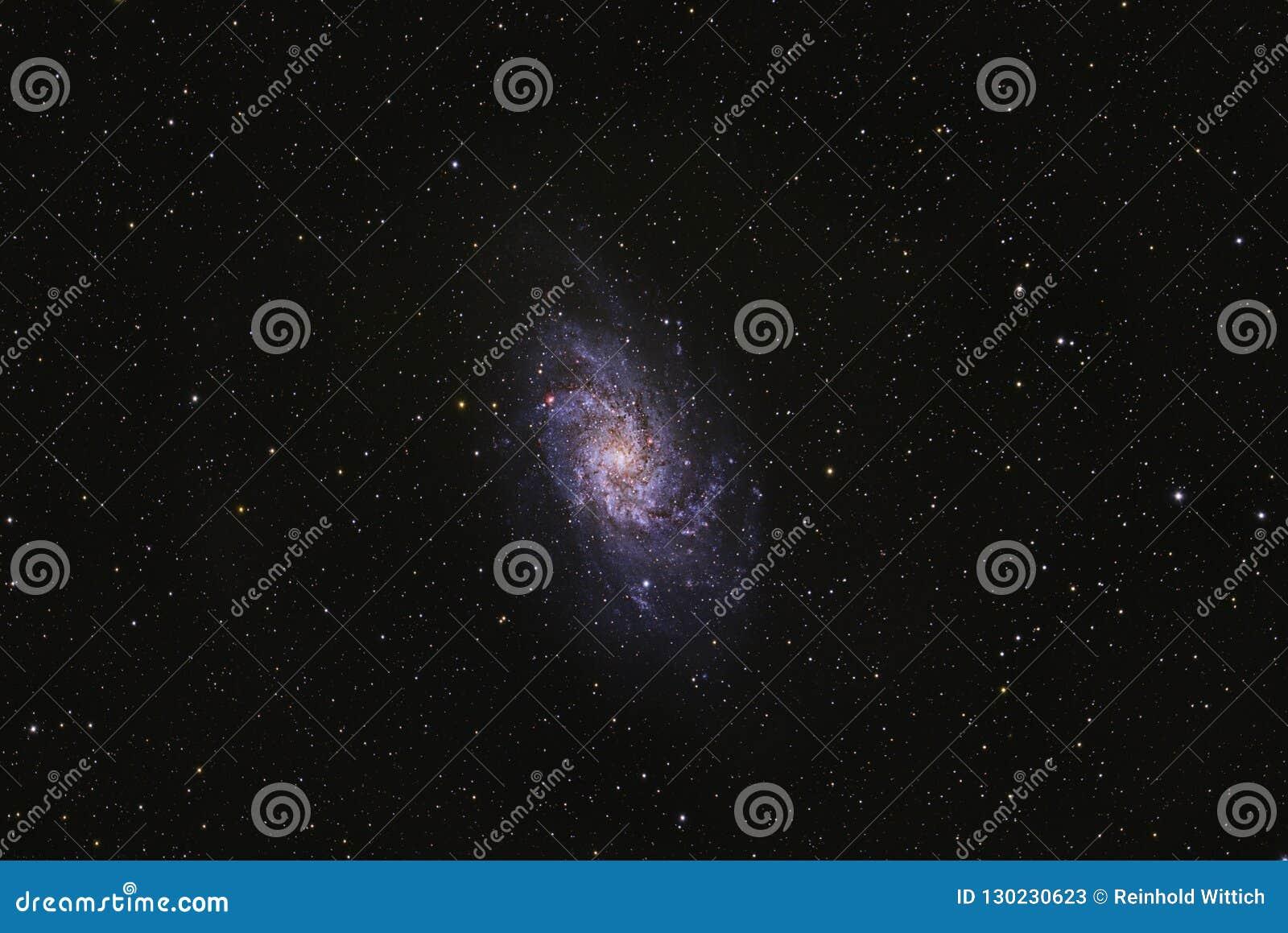 Ευρύς τομέας γαλαξιών Triangulum M33