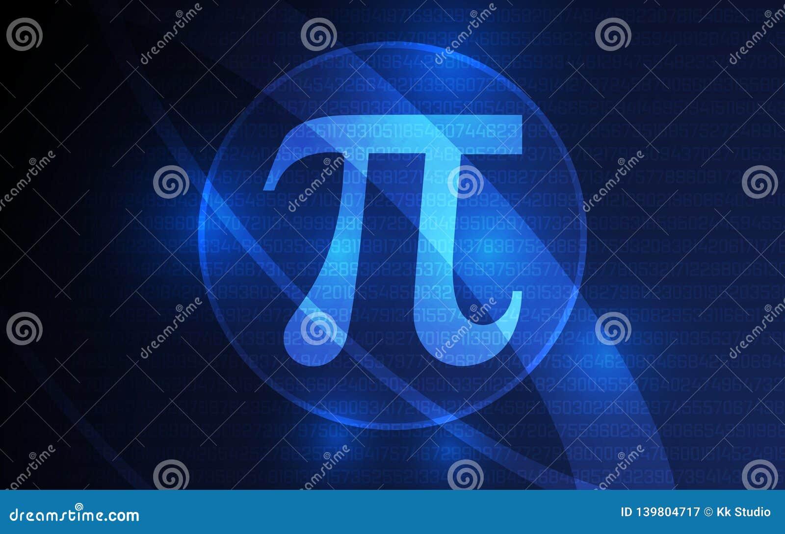 Ευτυχές στις 14 Μαρτίου 3 εμβλημάτων ημέρας pi 14 ψηφία του διανύσματος pi