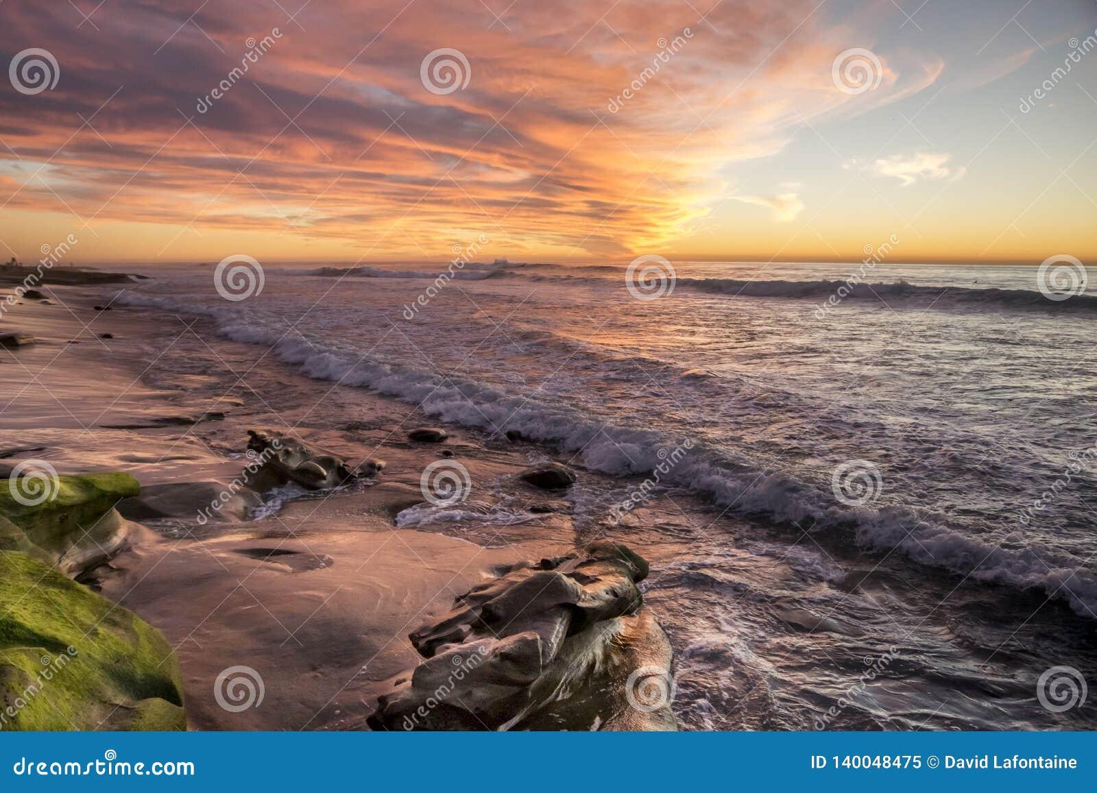 Ηλιοβασίλεμα στη Λα Χόγια