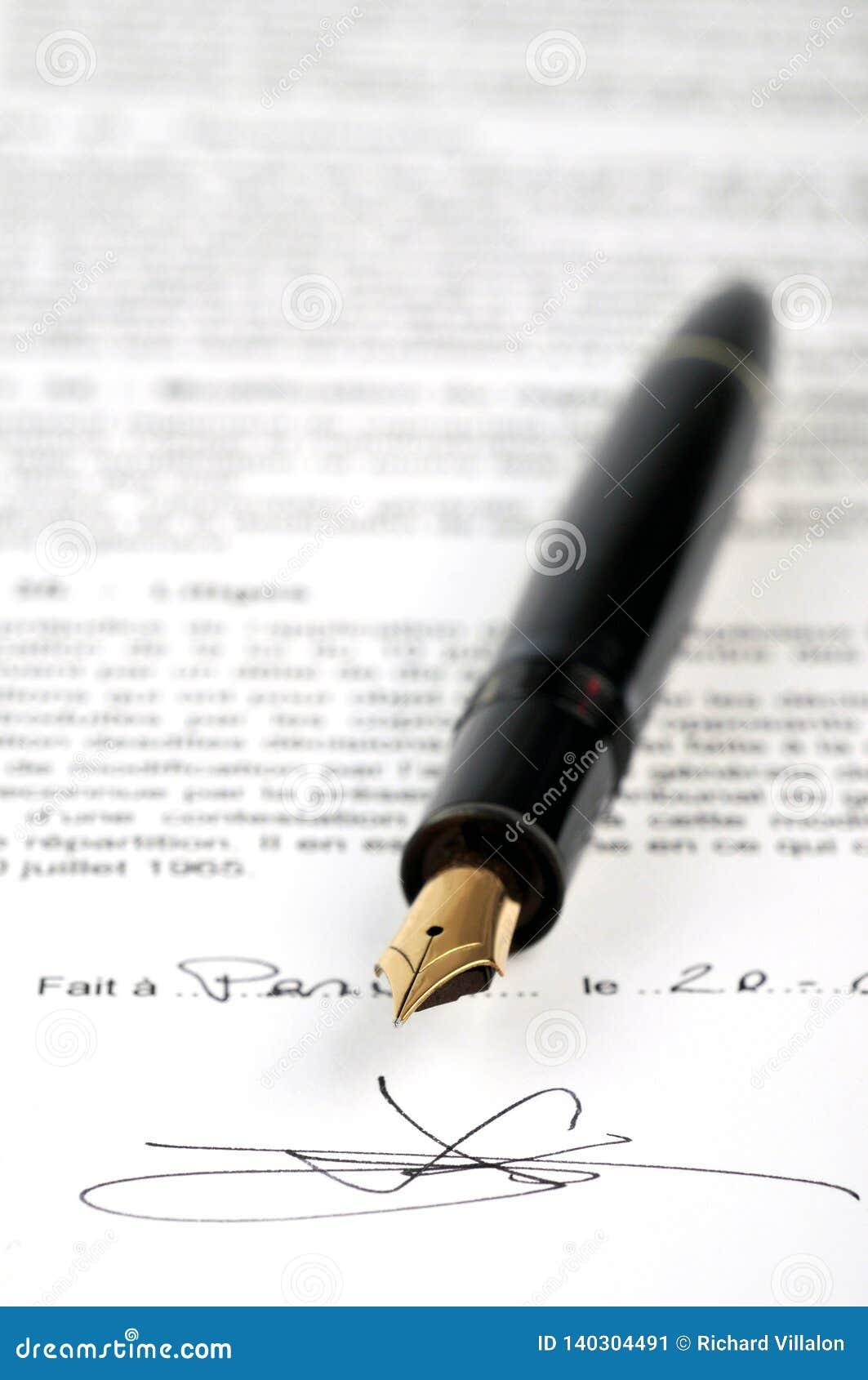 Η υπογραφή της σύμβασης