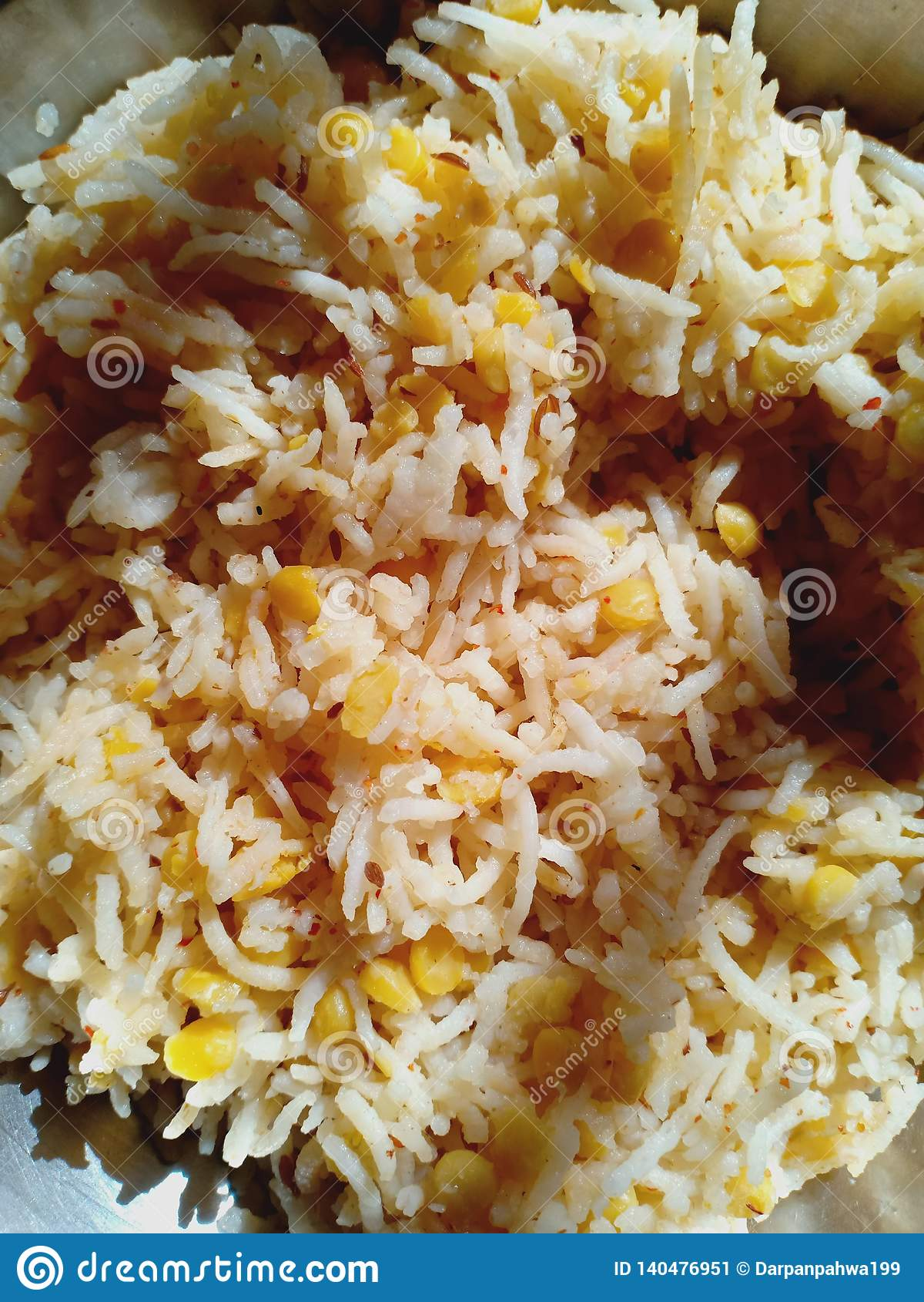 Ινδικό αυθεντικό πλούσιο Basmati pulau ρυζιού