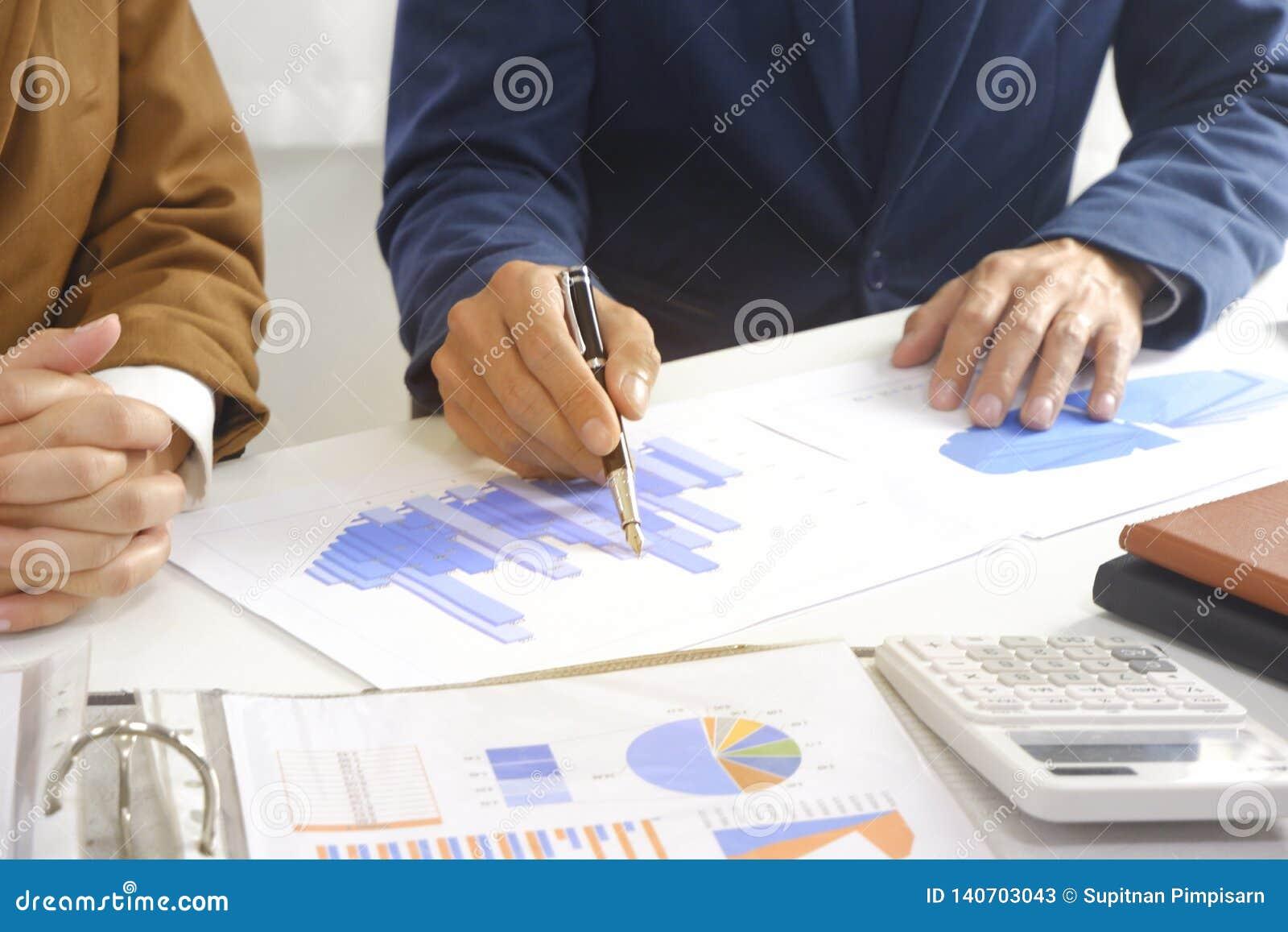 Ιδέα σχεδίου συνεδρίασης του Businesspeople, επαγγελματική εργασία επενδυτών στην αρχή για το νέο πρόγραμμα ξεκινήματος
