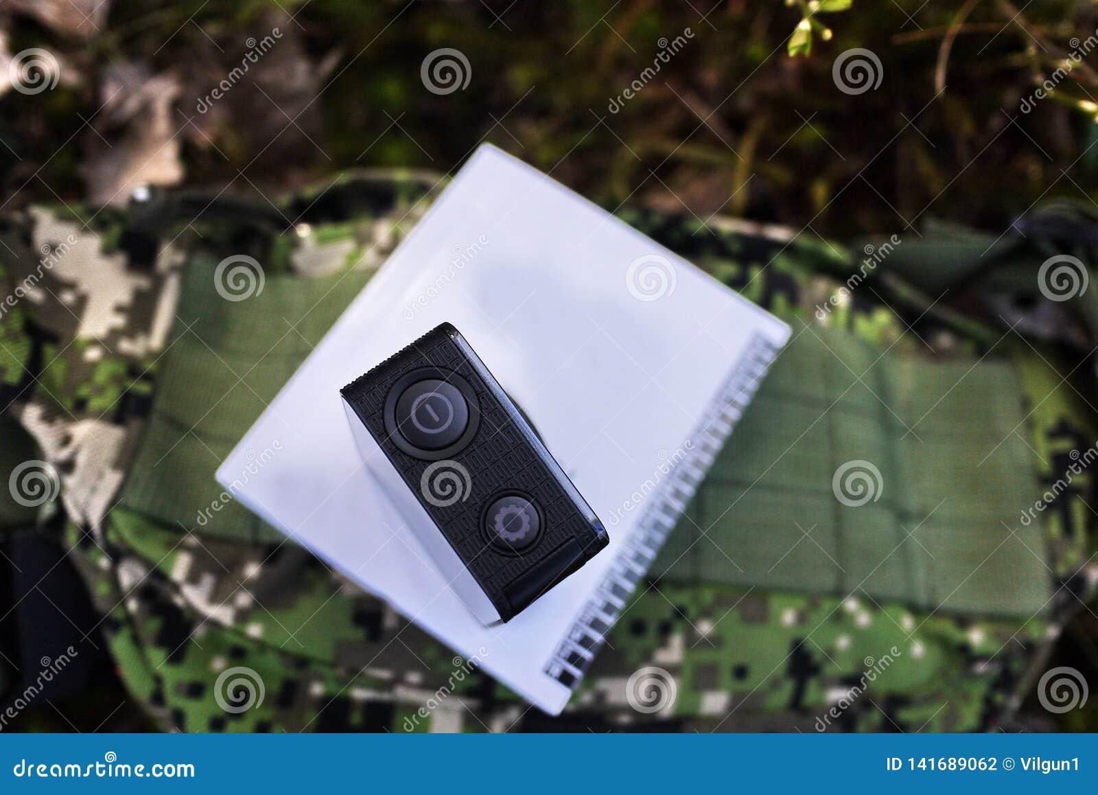 Κάμερα δράσης για να συλλάβει τα βίντεό σας Κατάλληλος για το ταξίδι αυτοκινήτων, αθλητισμός, κατάδυση,