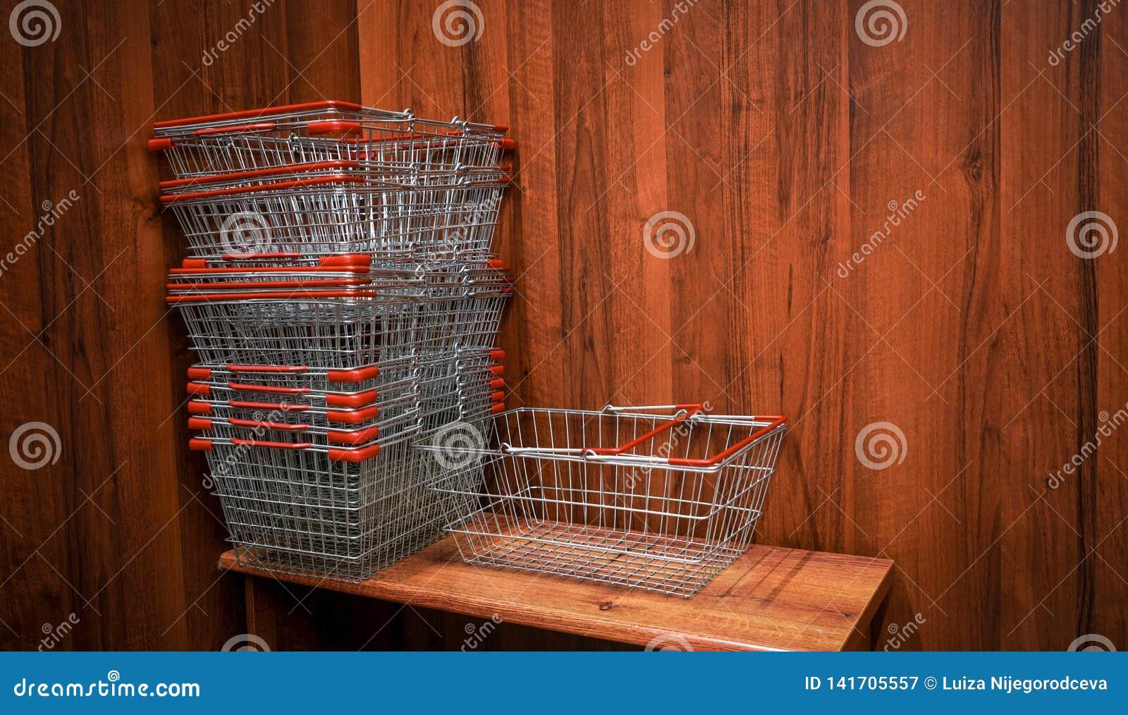 Κάρρα αγορών στο κατάστημα